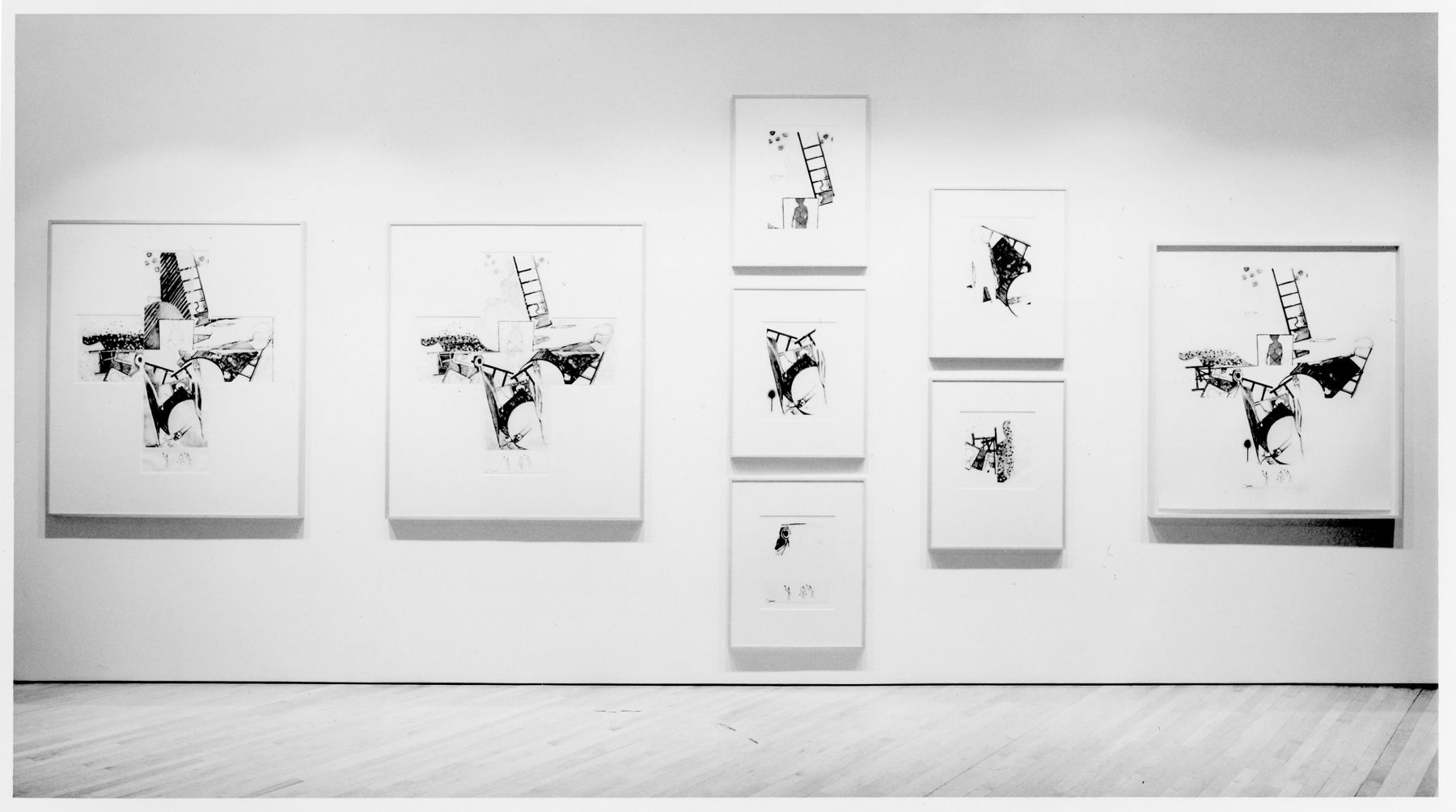 Jasper Johns, The Seasons Nov 9,1991-Jan 4,1992