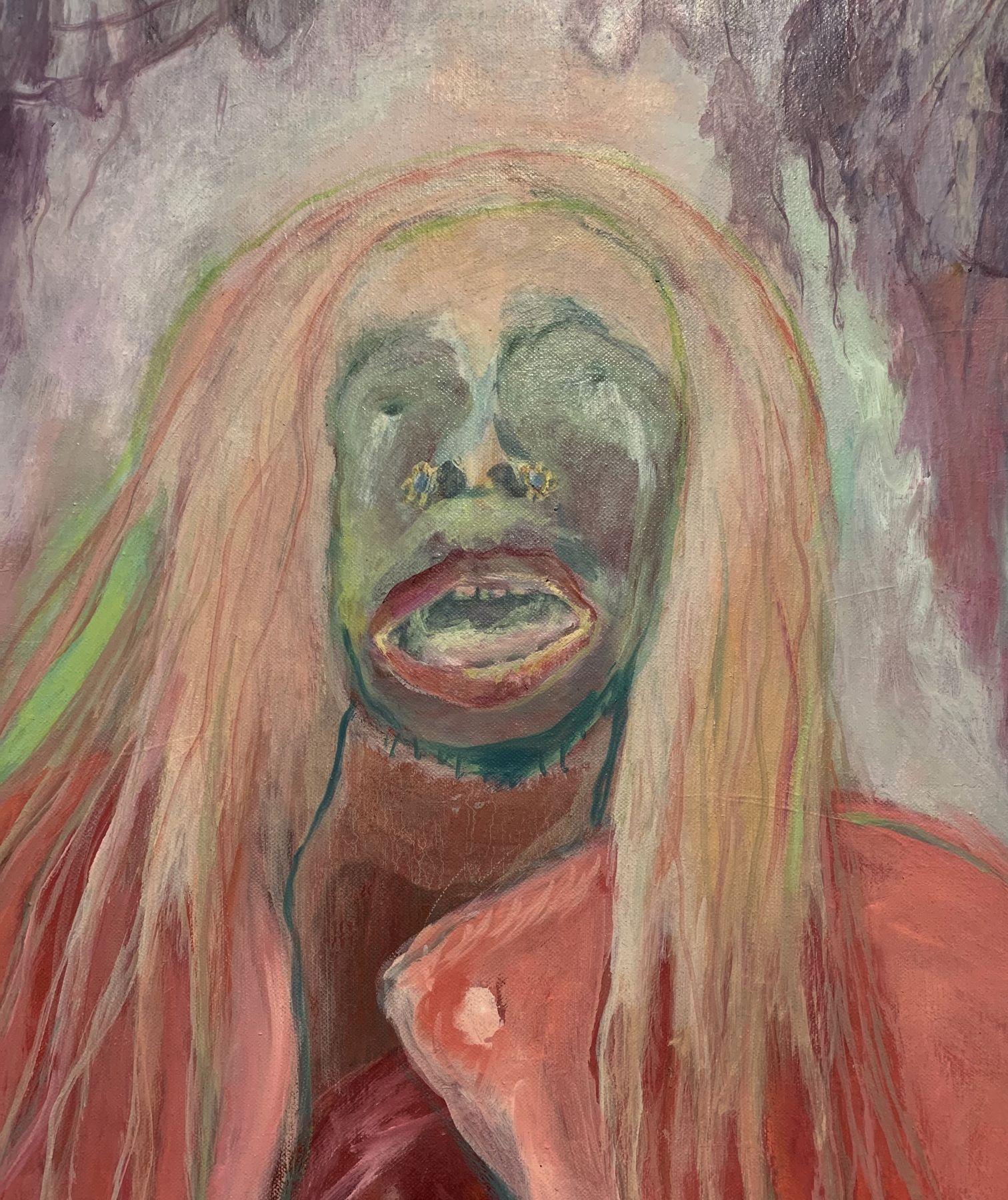 Sosa (Detail), Mary face