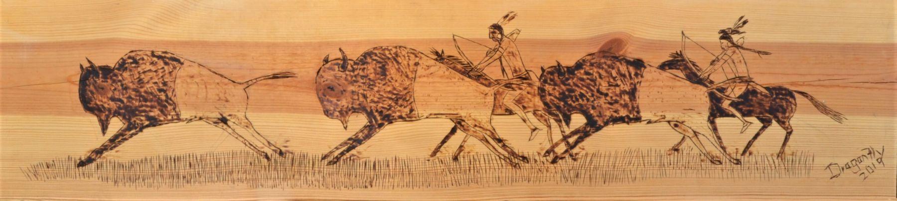 Buffalo Hunter's Ensuring Camp Survival