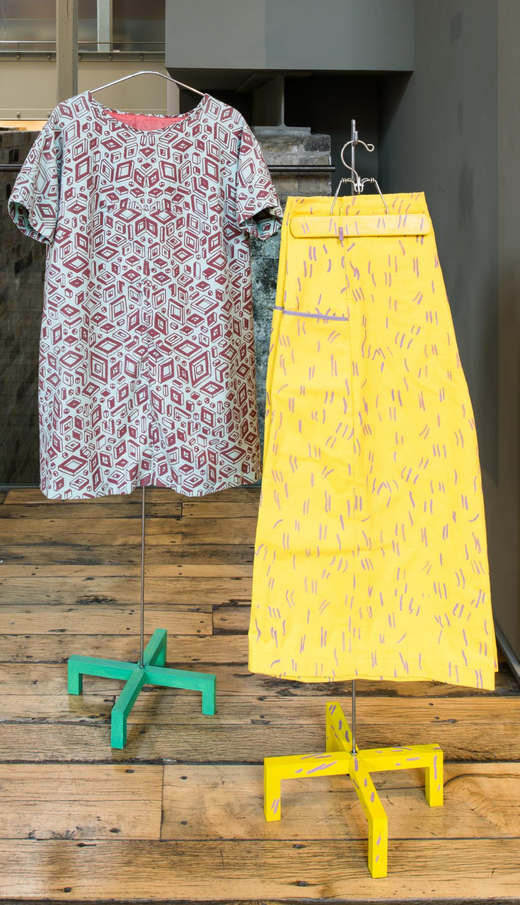 Improvisation 1: Yellow Pants 1 (detail), Michelle Forsyth, 2020