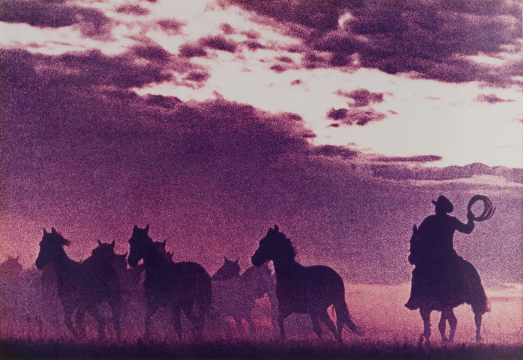 Richard Prince Untitled (Cowboy), 1984 Ectacolour photograph 57,8 x 38,7 cm