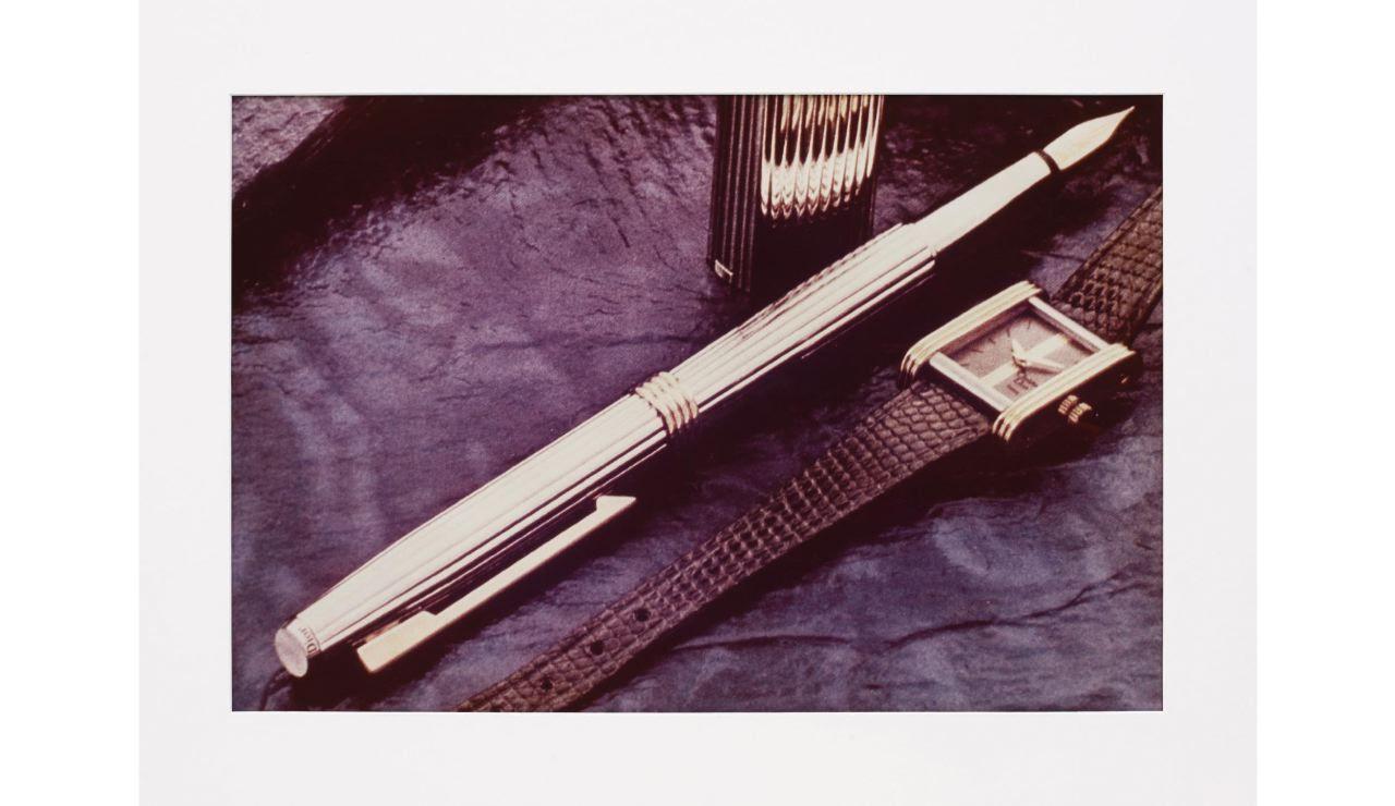 Richard Prince Untitled (Pen), 1979 Ektacolor photograph 15 5/8 x 23 3/8 inches 39,7 x 59,4 cm 20 x 24 ft 50,8 x 60,9 cm