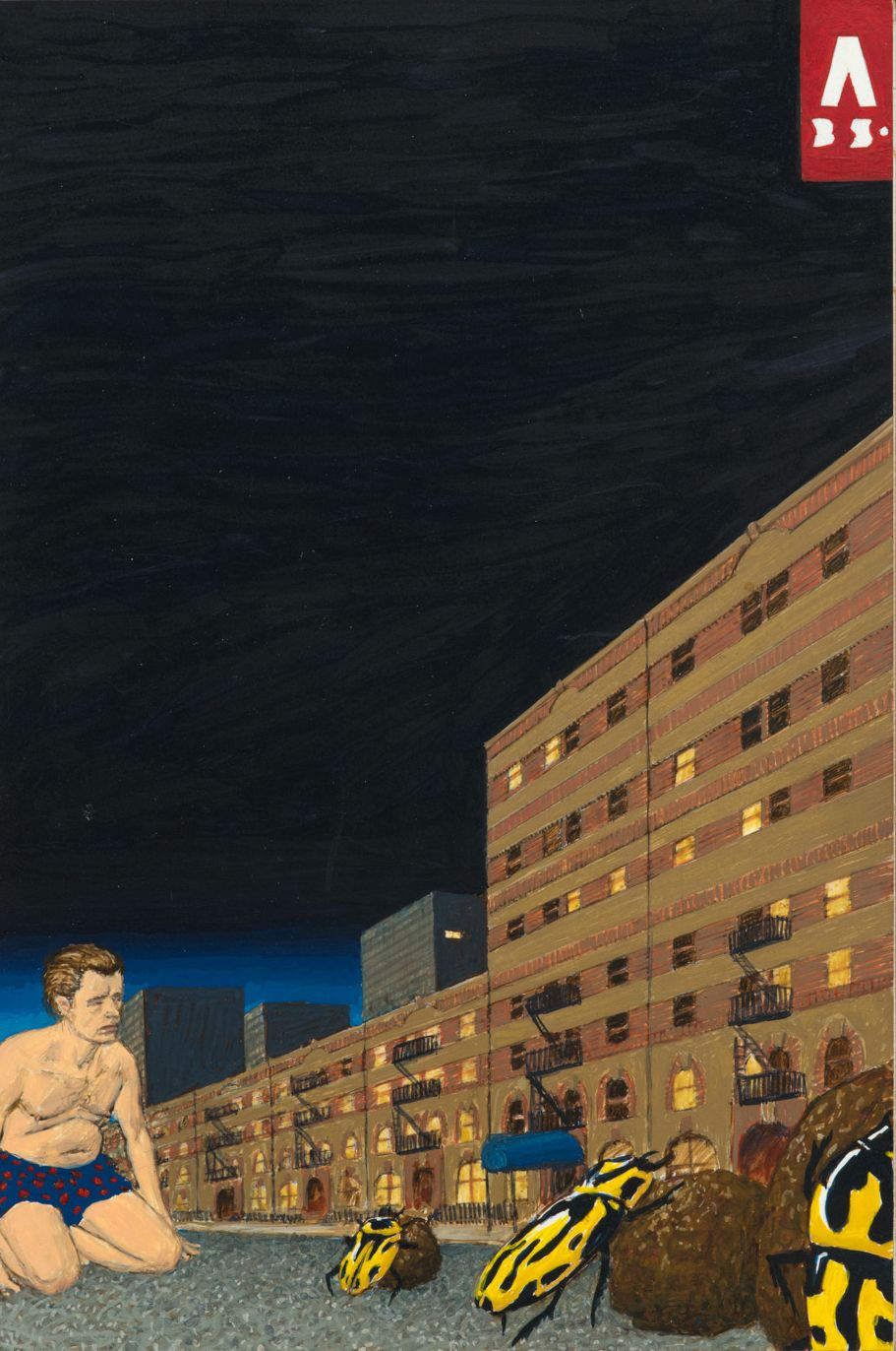 Dream Object: Paperback Cover Painting (I was Waiting for Eileen...), 1999