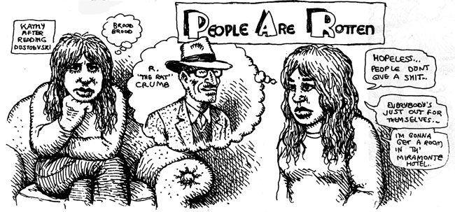 R. Crumb Sketchbook Vol. 8: Fall 1970 to Fall 1972