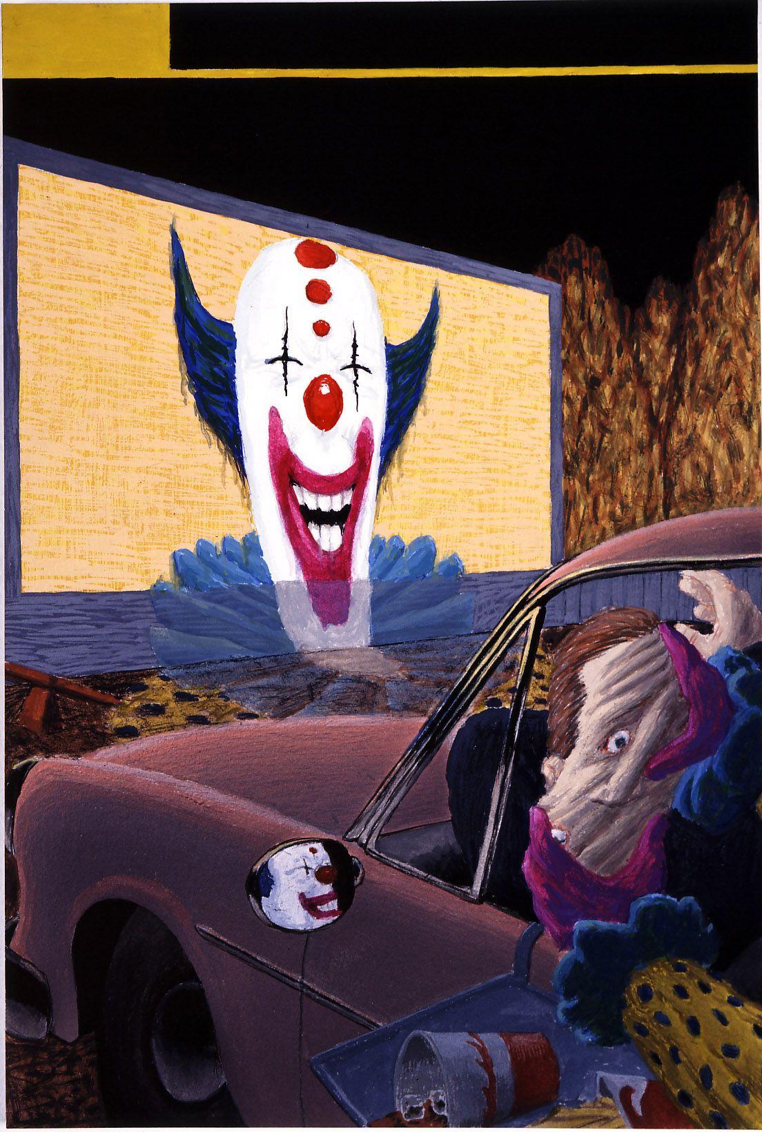 last text clown