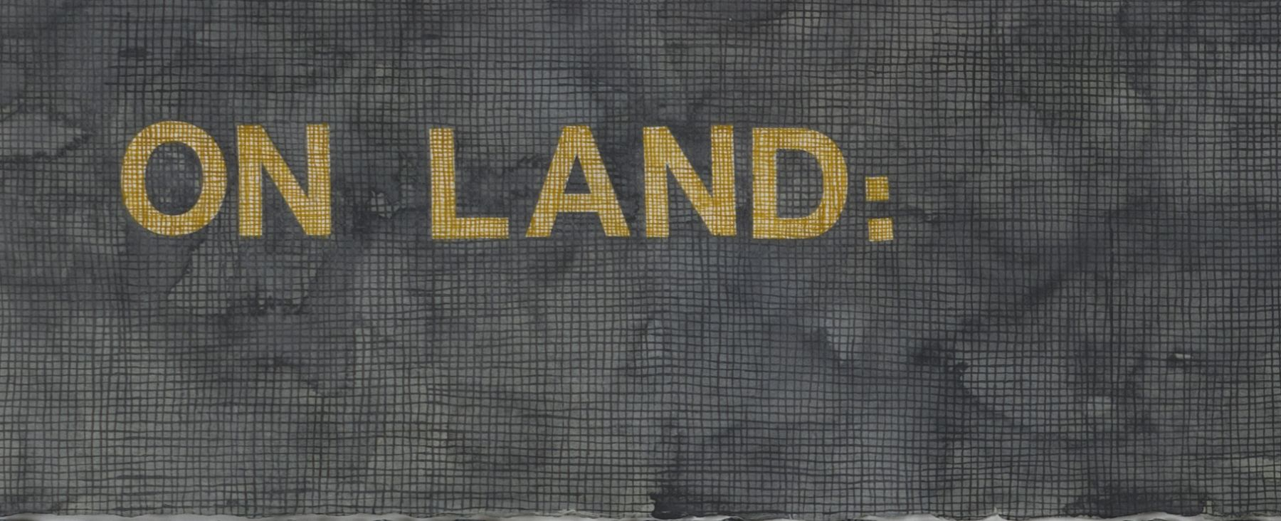 HIGHLIGHT: PAOLO COLOMBO: ON LAND