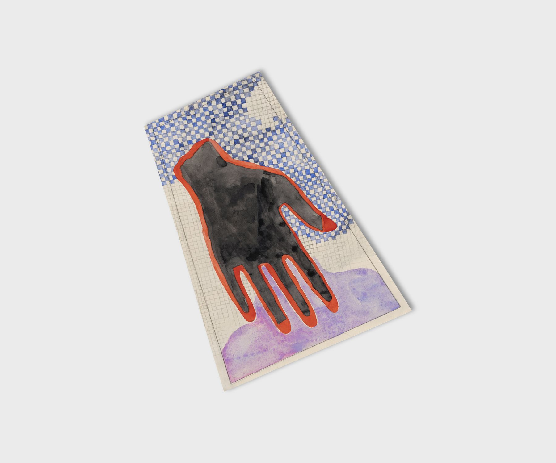 PaoloColombo Mollino's Hand, 2020 Watercolor on Arches paper