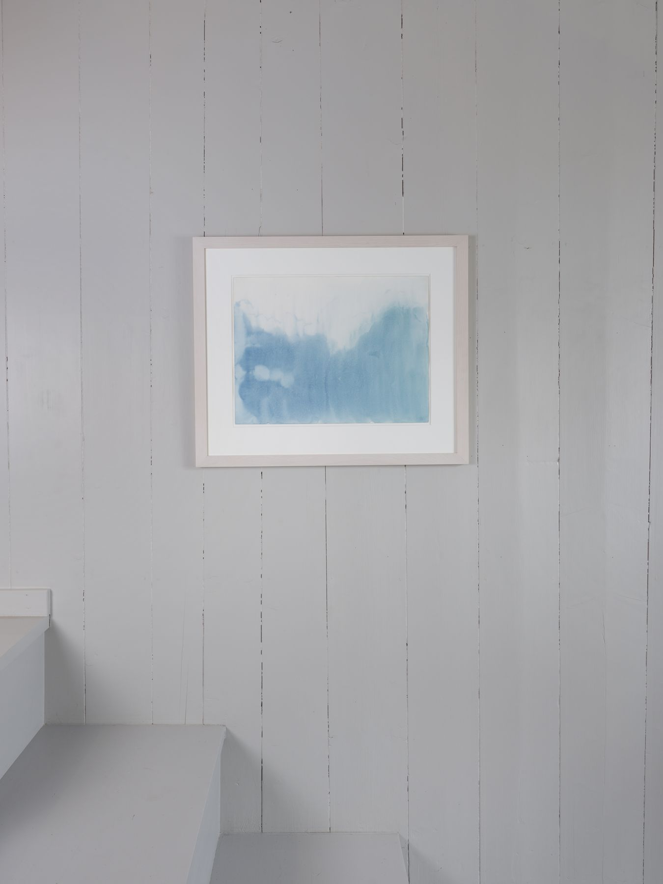 Markus Döbeli  Untitled, 2015  Watercolor on paper  46 x 61 cm installation view
