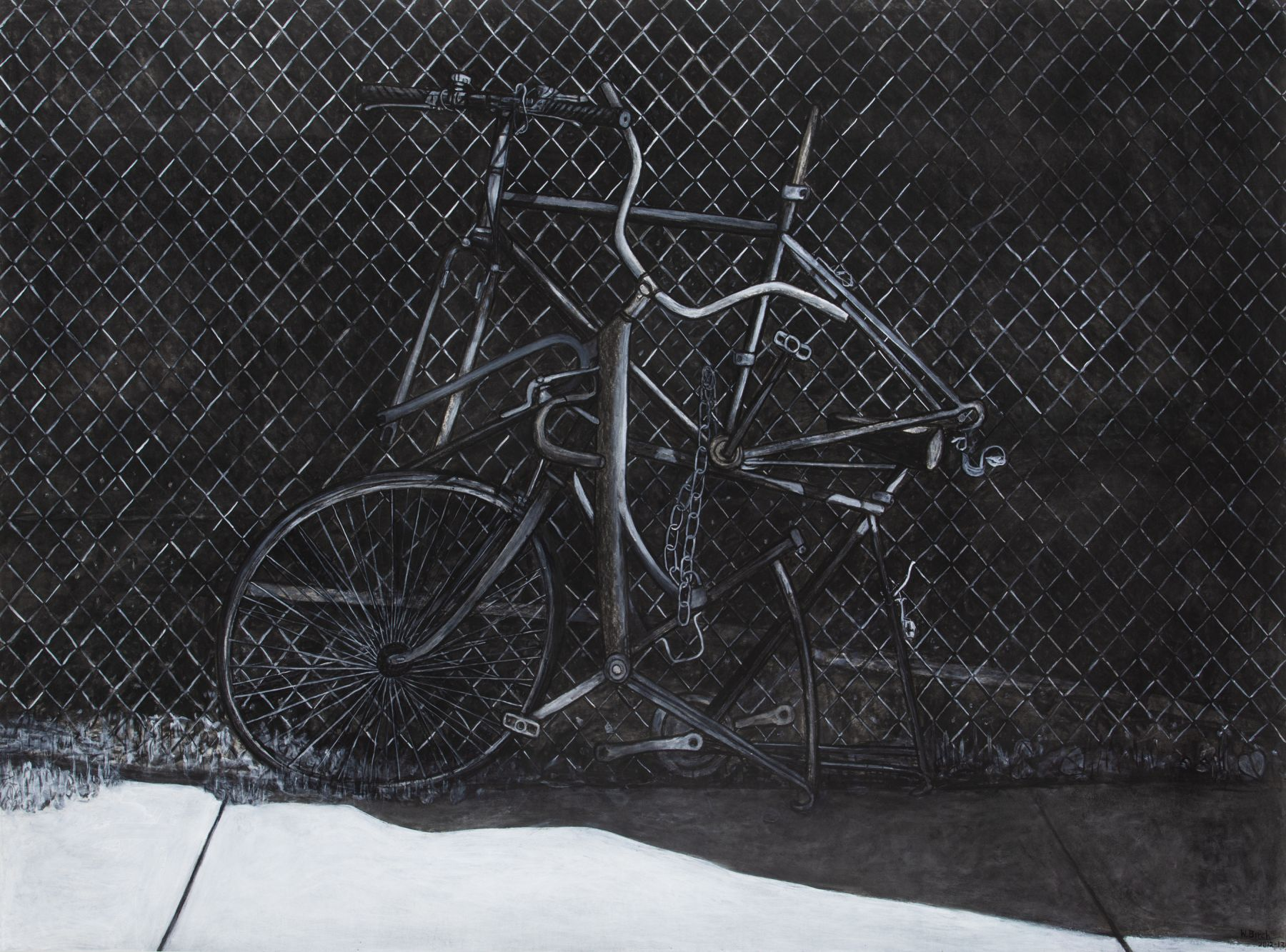 Text, bicycle