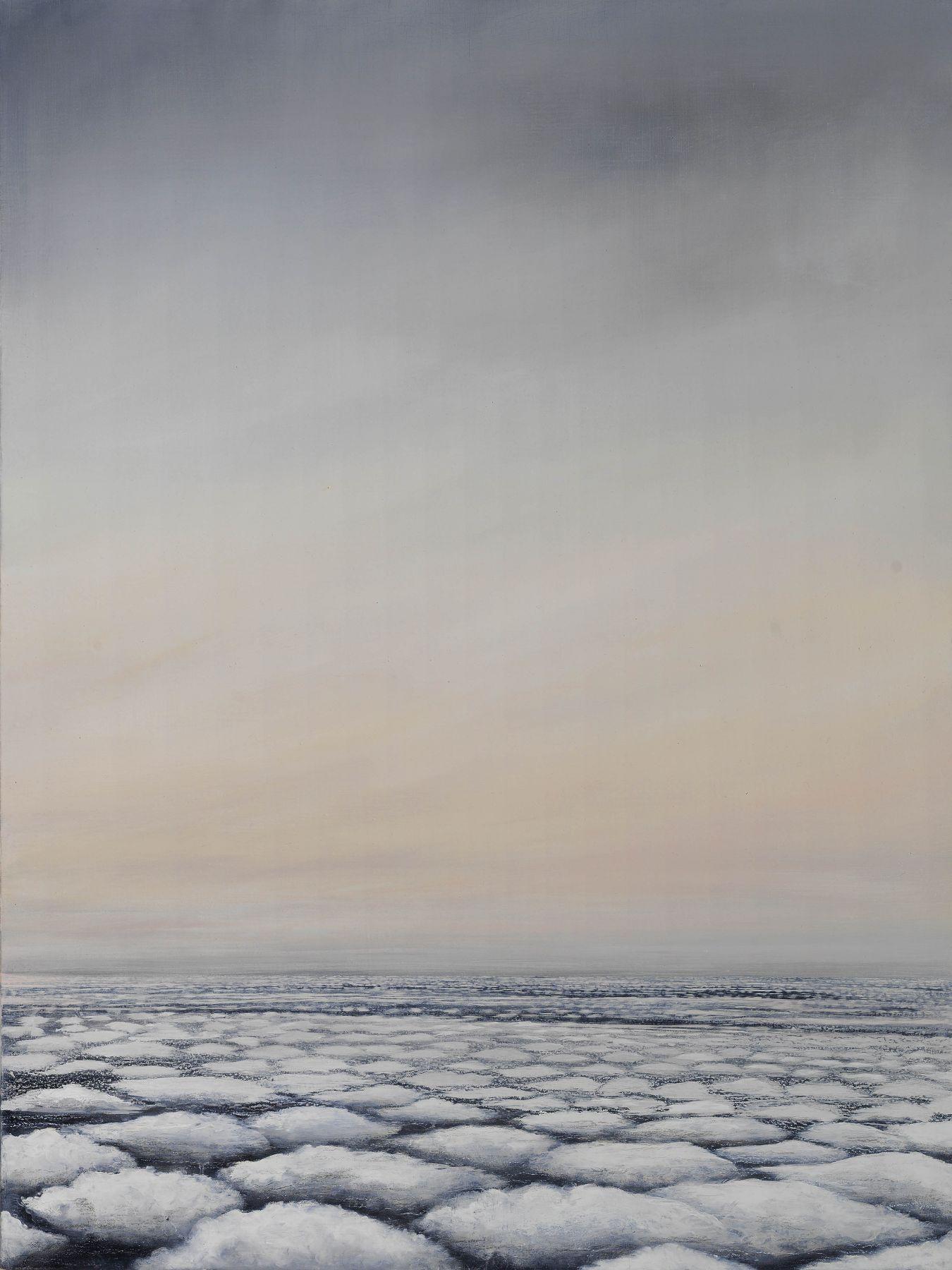 "Sky Over Gemini South Georgia, 40"" x 30"", Oil On Linen"