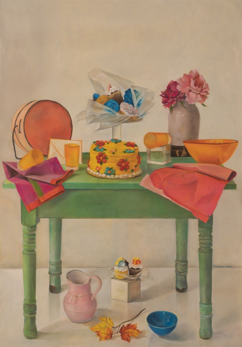 Have My Cake And..., Pastel On Paper, Penelope Harris