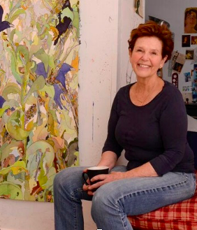 Joan Becker In Studio