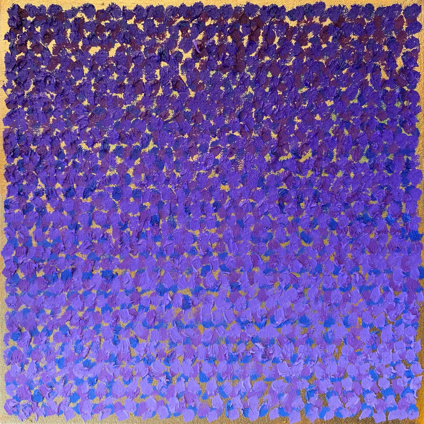 "Adversarial Pigments 04, 12"" x 12"", Oil On Canvas"
