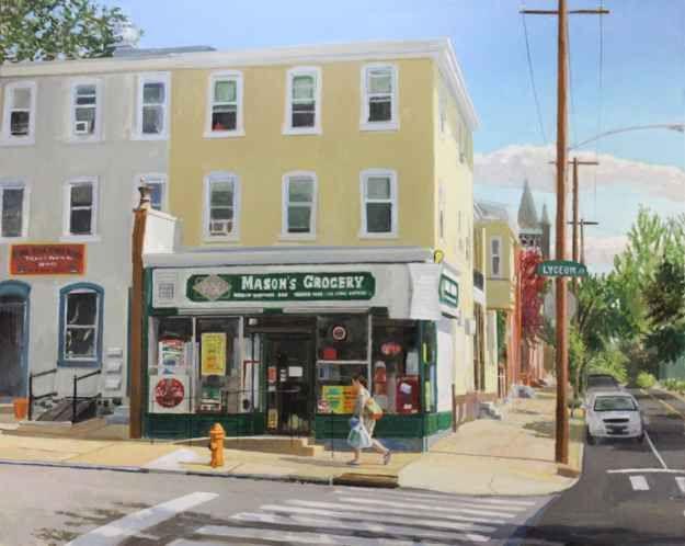 Mason's, 24 x 30, Oil On Canvas