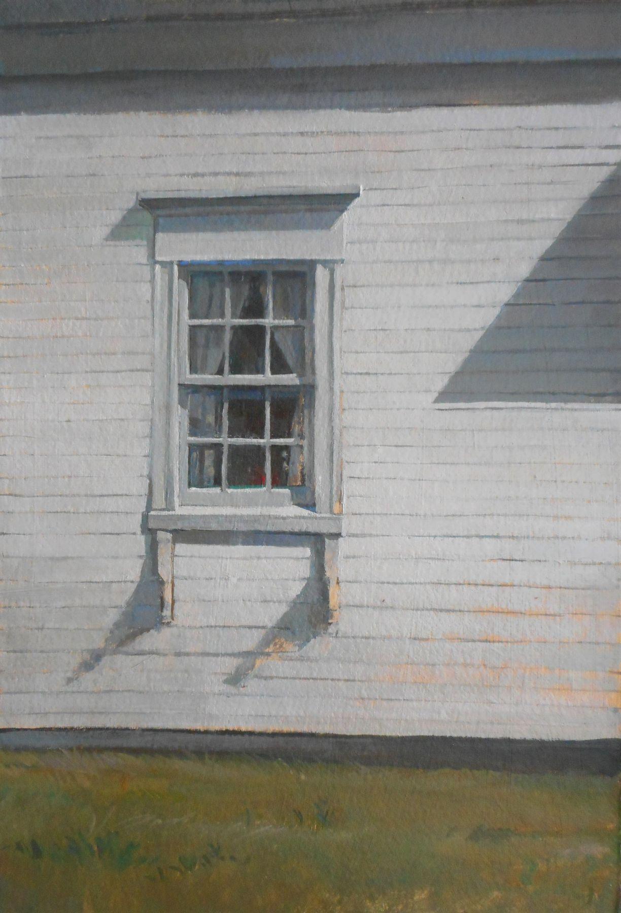"Triangle Shadow, 22"" x 15"", Oil On Canvas"
