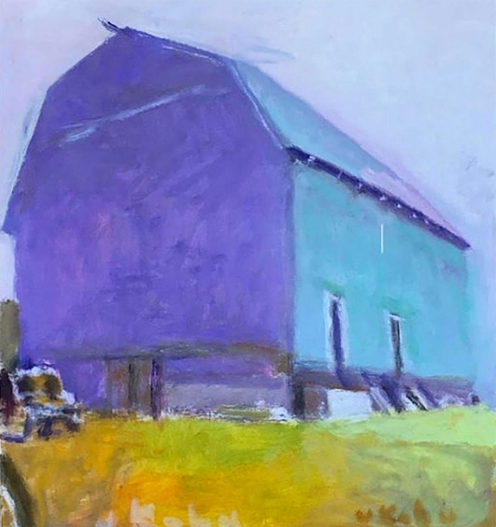 Blue Barn by Wolf Kahn, Easthampton,  NY