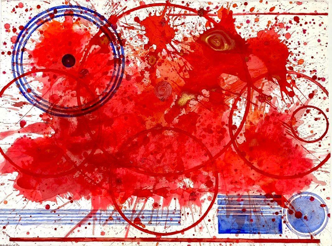 "Happy Birthday America 2012, J. Steven Manolis, 22.5"" H X 30""W;"