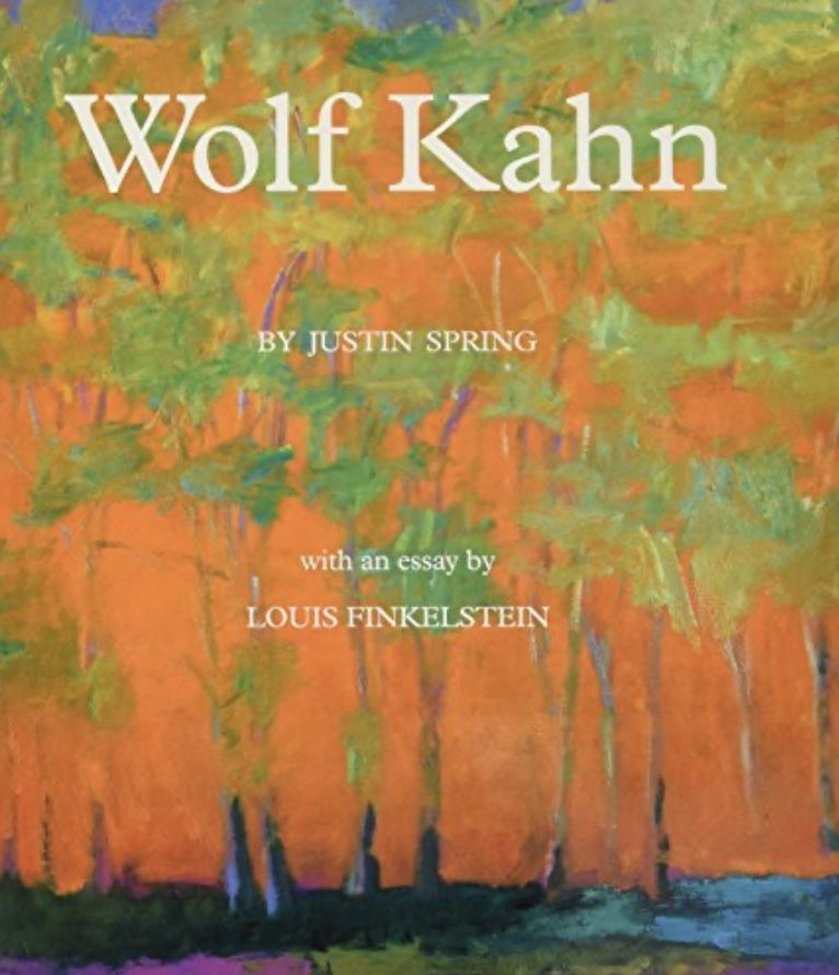 Wolf Kahn book cover