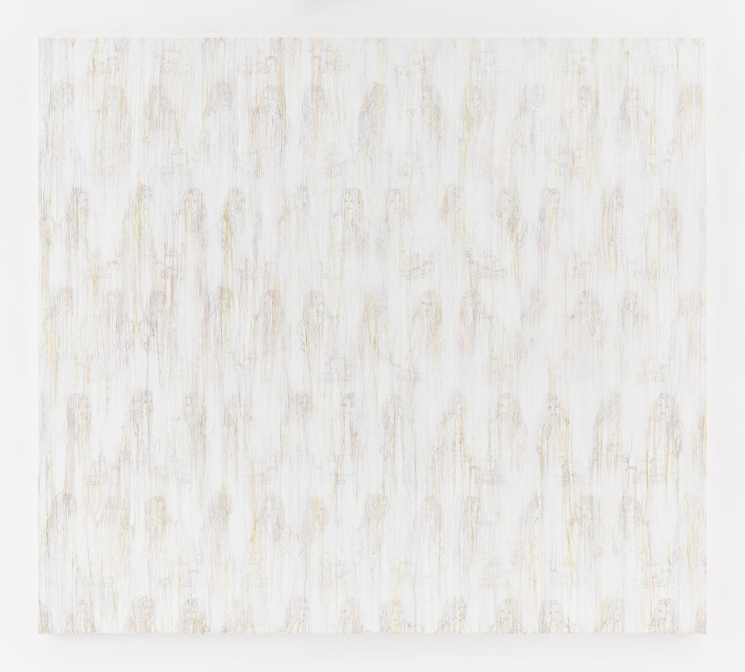 Ghada Amer | White RFGA