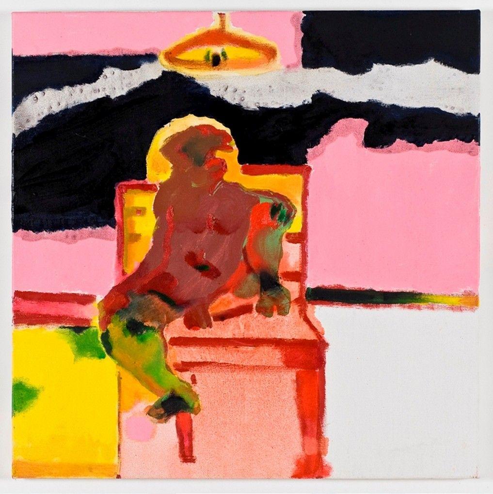 Robert Hodgins - Study After Michelangelo no.2