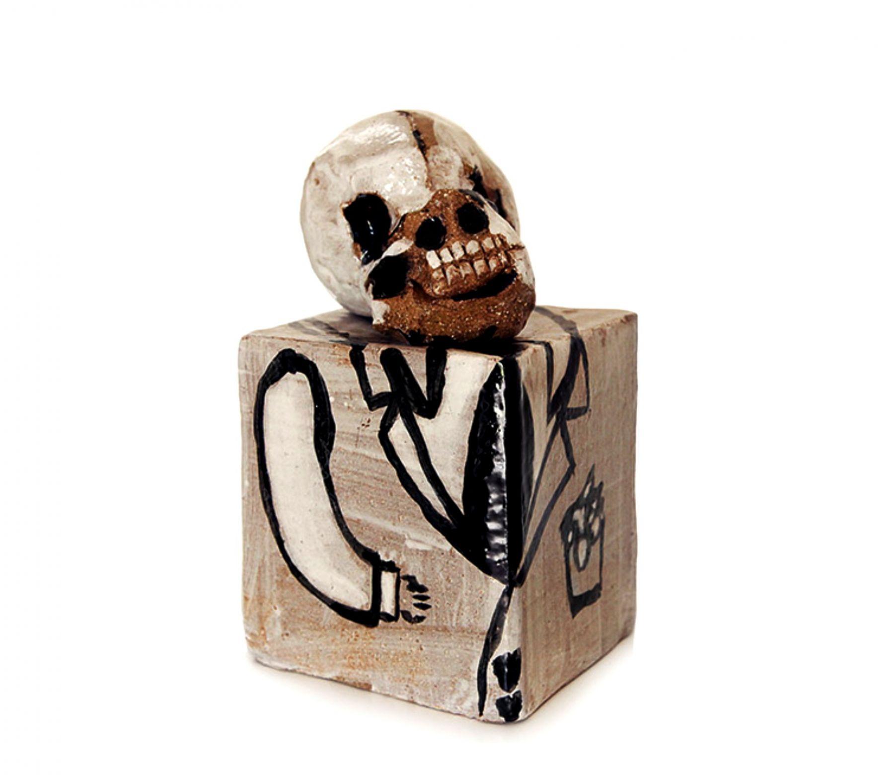 Robert Hodgins skull piece