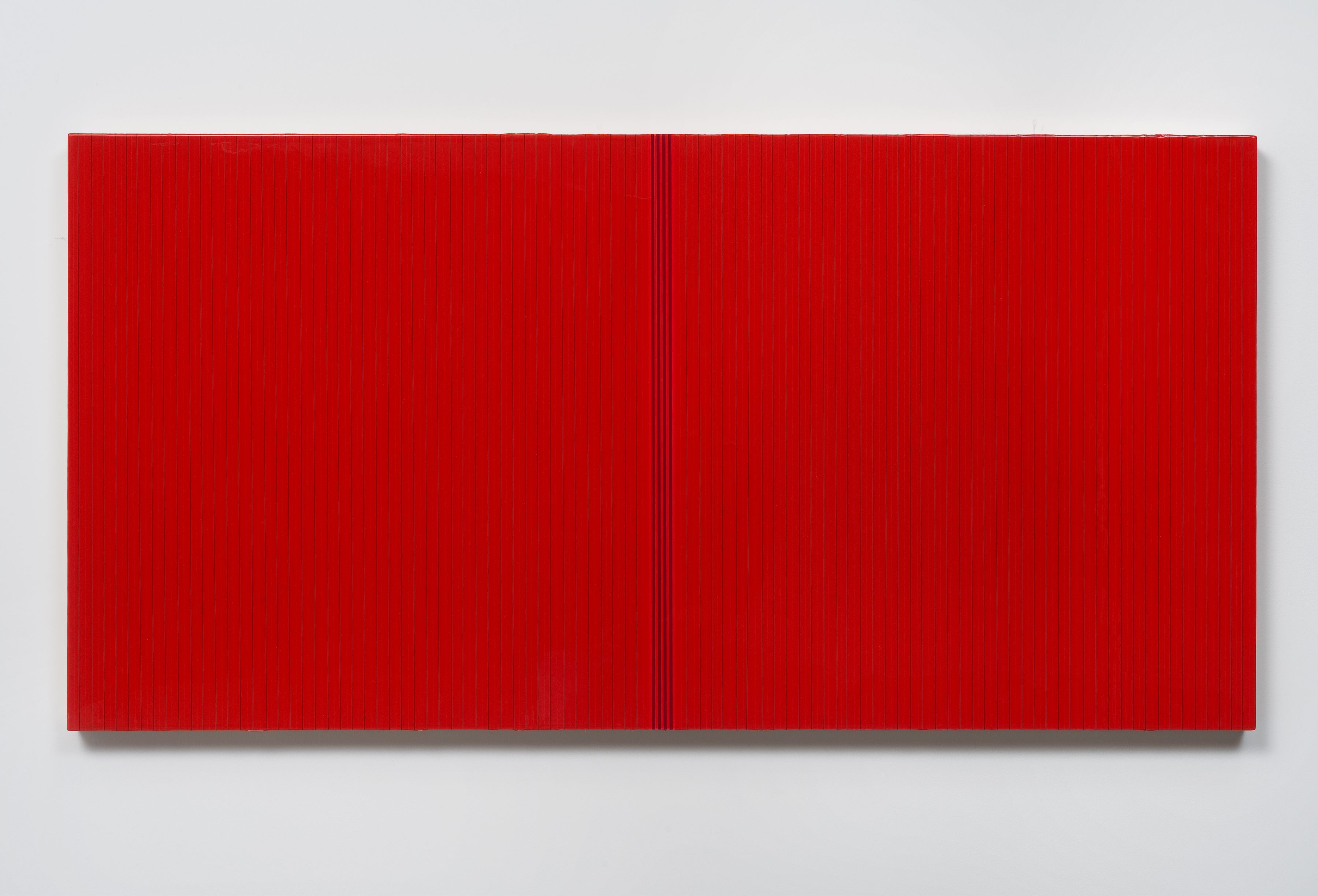 Untitled (red poly), 2012