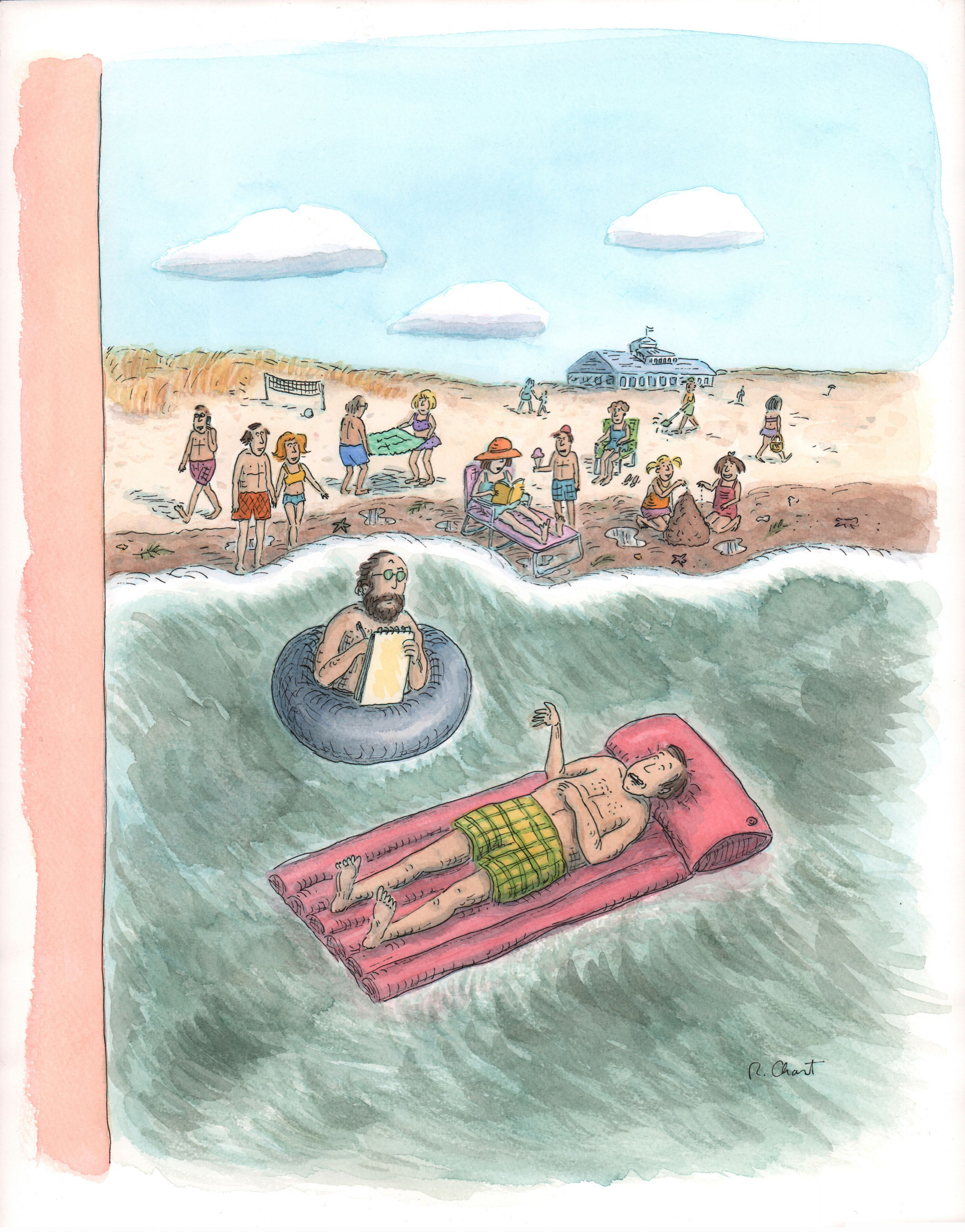 Roz Chast, Psychiatrist Cover, published Aug. 7, 2006