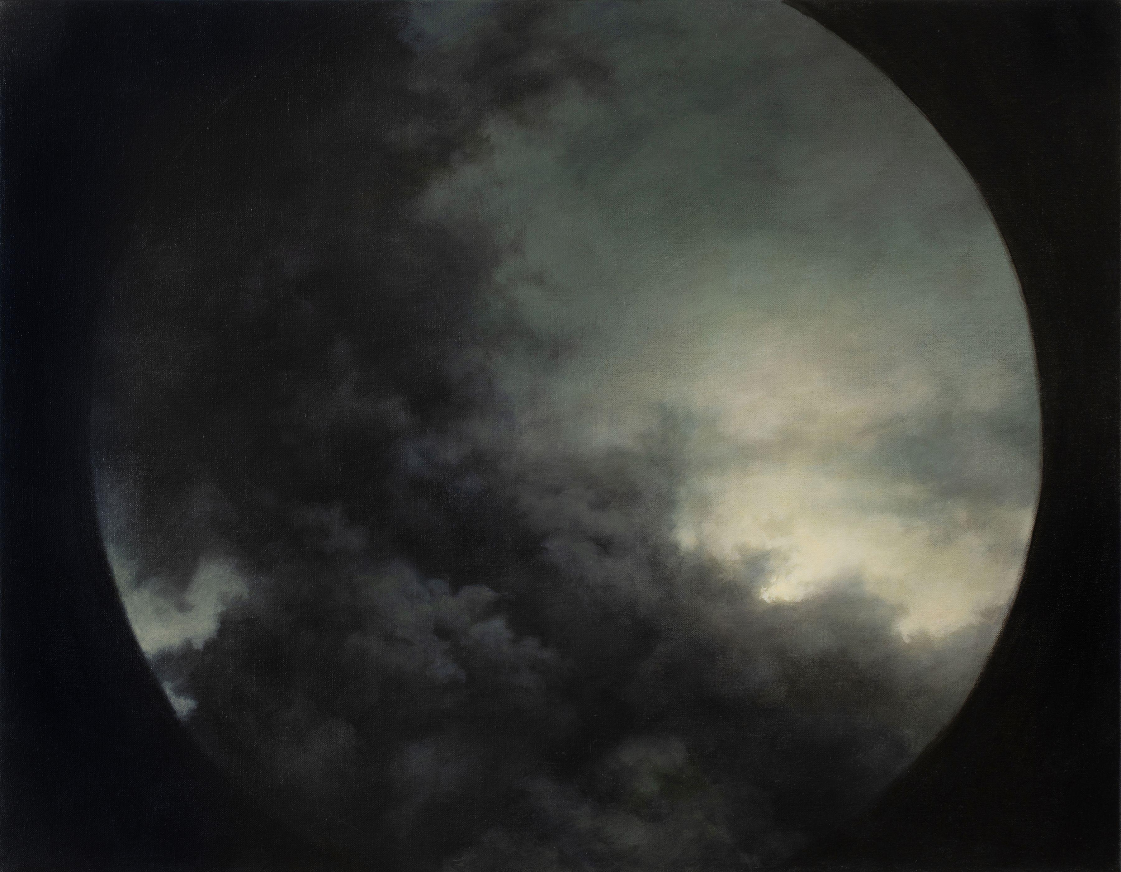 circular clouds sky