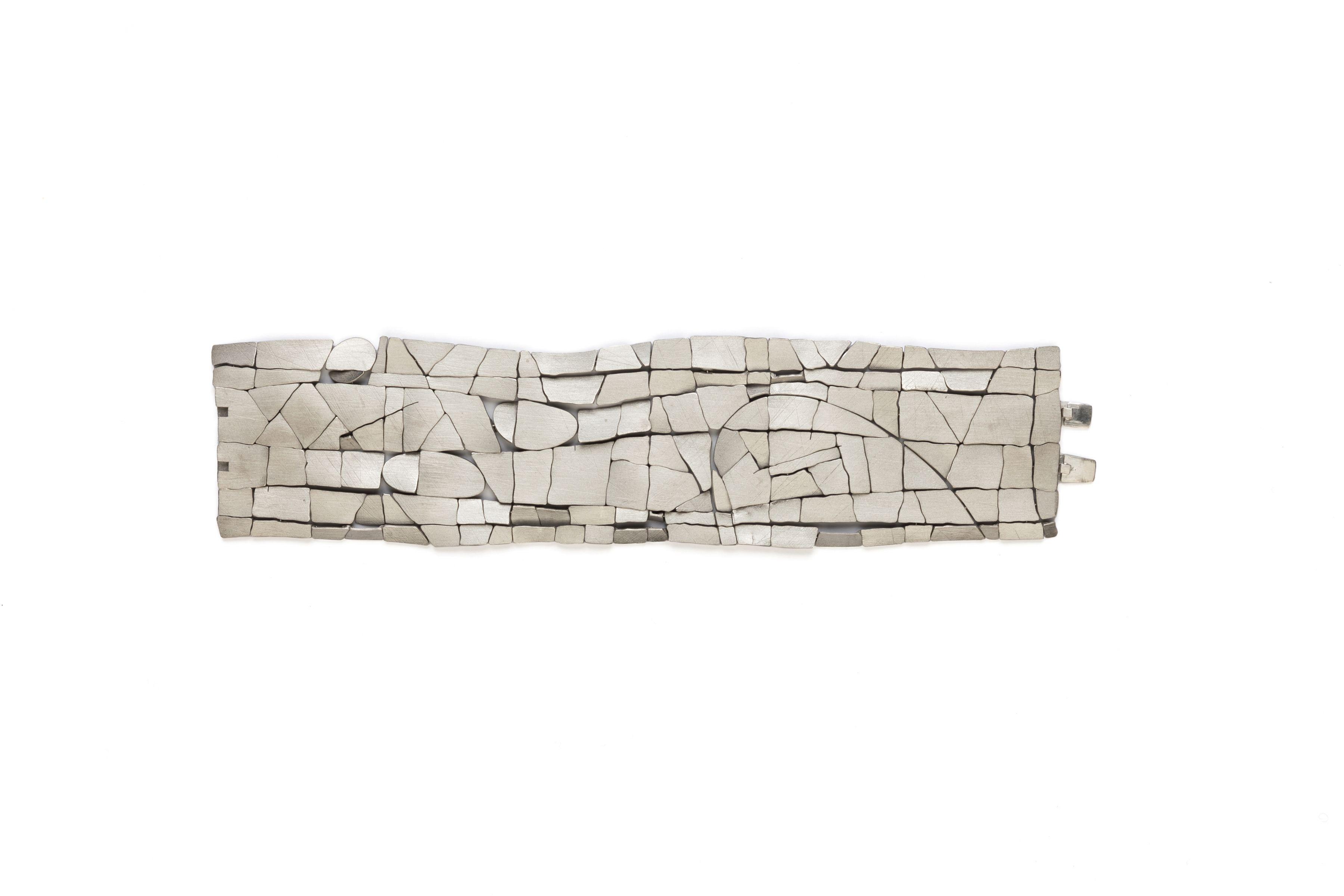 John Iversen, gold, crackle, bracelet