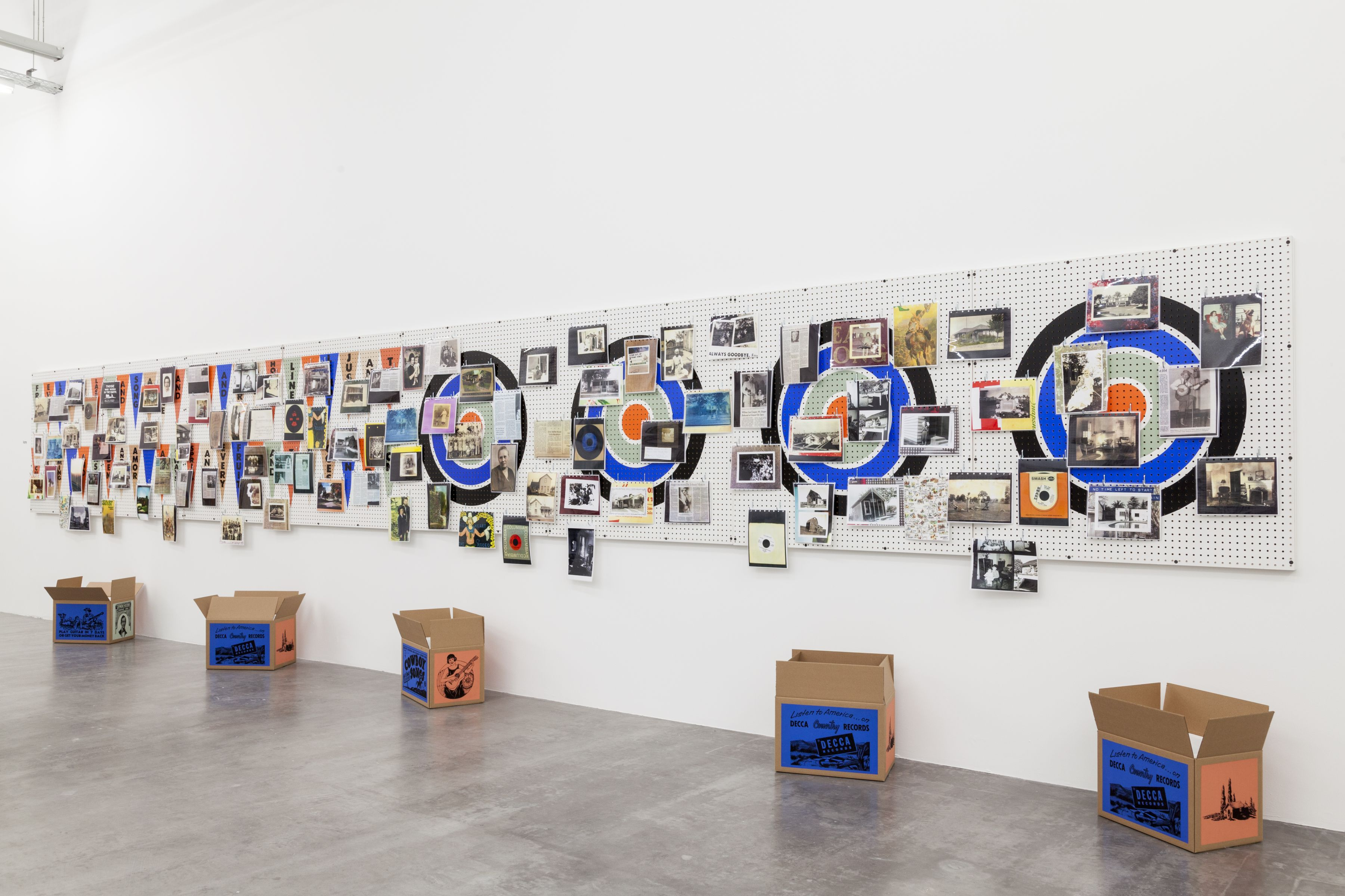 Installation View, No Time Left to Start Again and Again  WIELS, Contemporary Art Center, Brussels, Belgium, 2014
