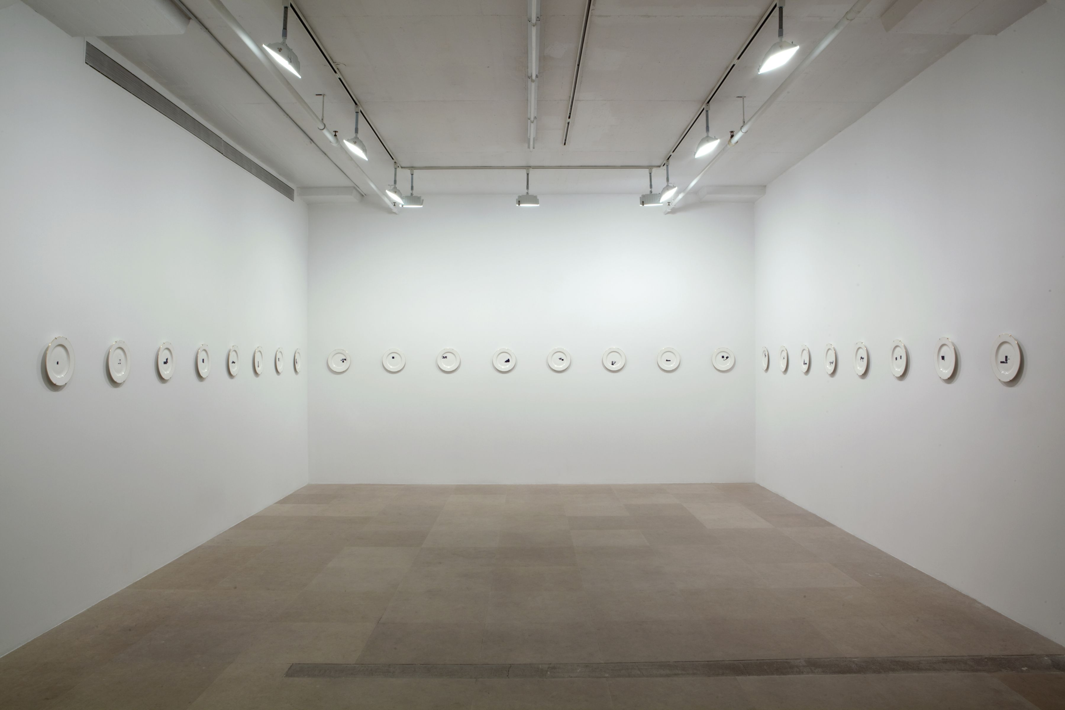 Installation view, A Work In Situ, Greene Naftali, New York, 2011