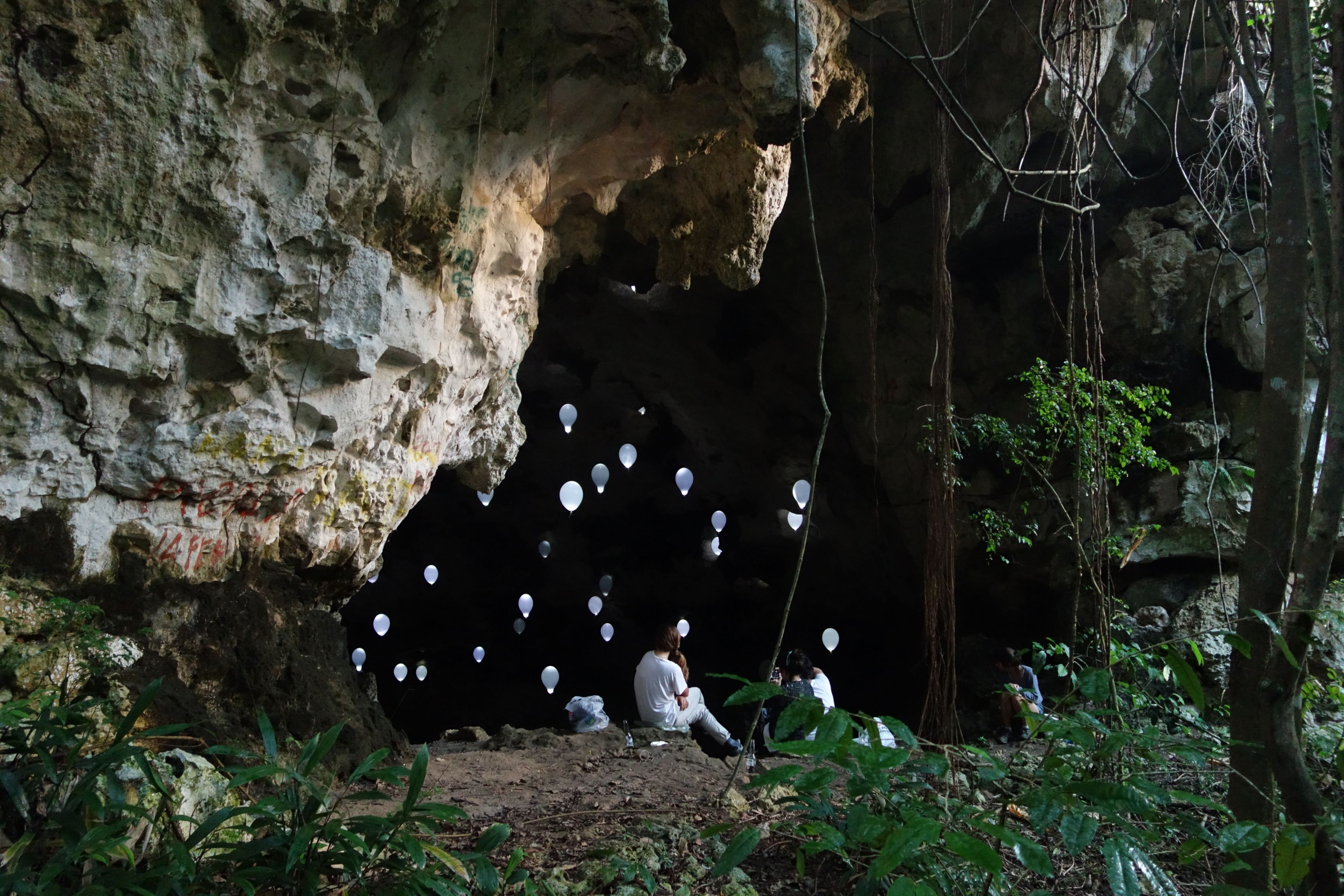 Performance view, Cave Show  Cave, Ciales, Puerto Rico, 2014