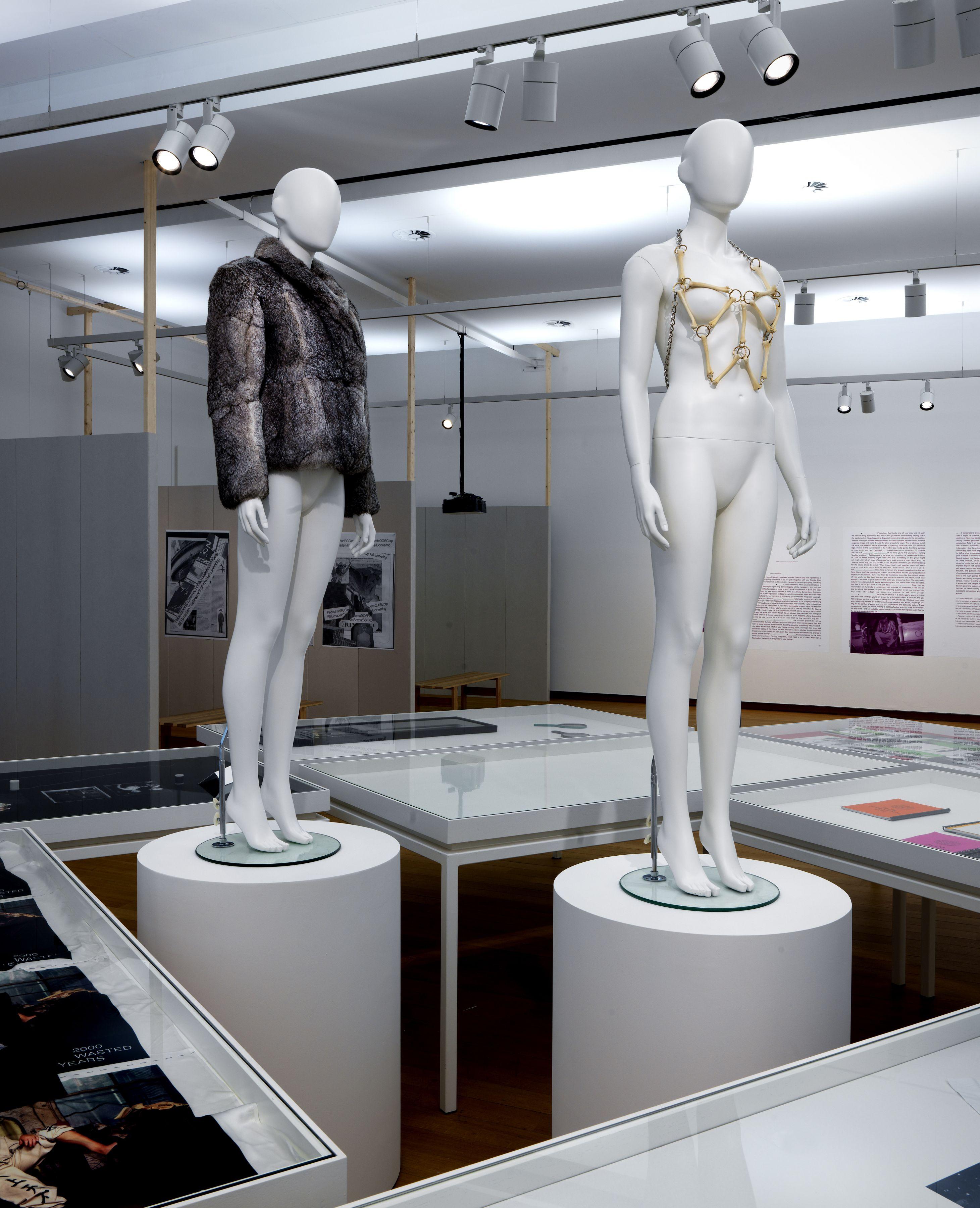 Installation view, Bernadette Corporation: Multiplyplex, Stedelijk Museum, Amsterdam, 2016