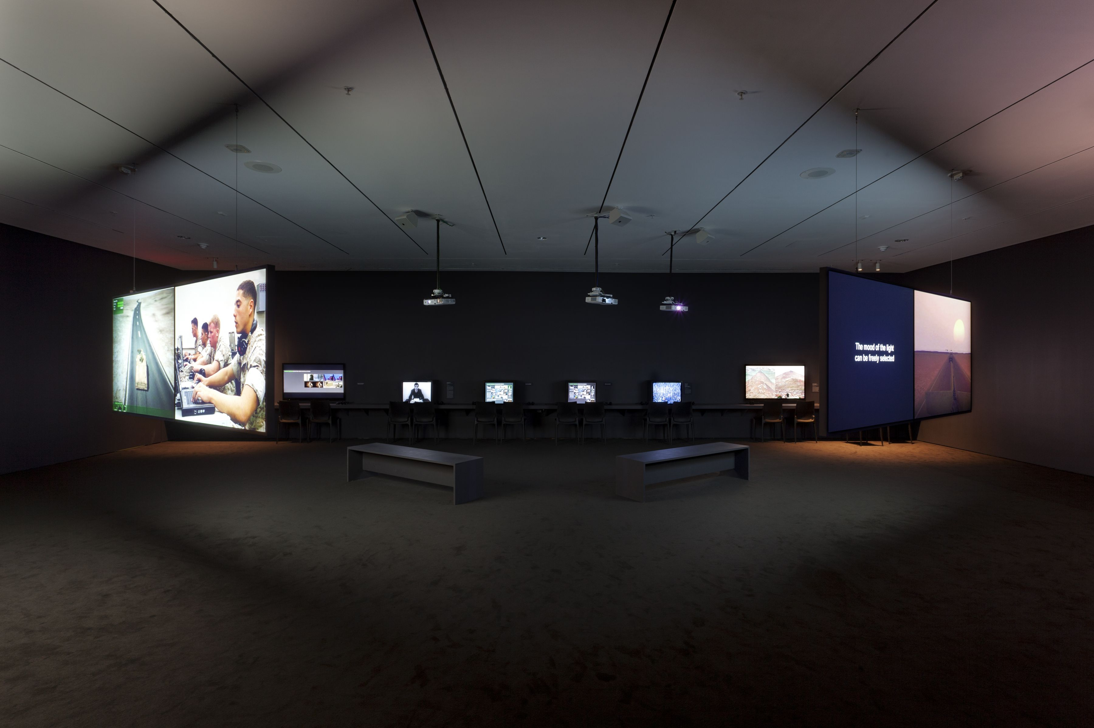 Installation view, Images of War (at a Distance), Museum of Modern Art, New York, 2011