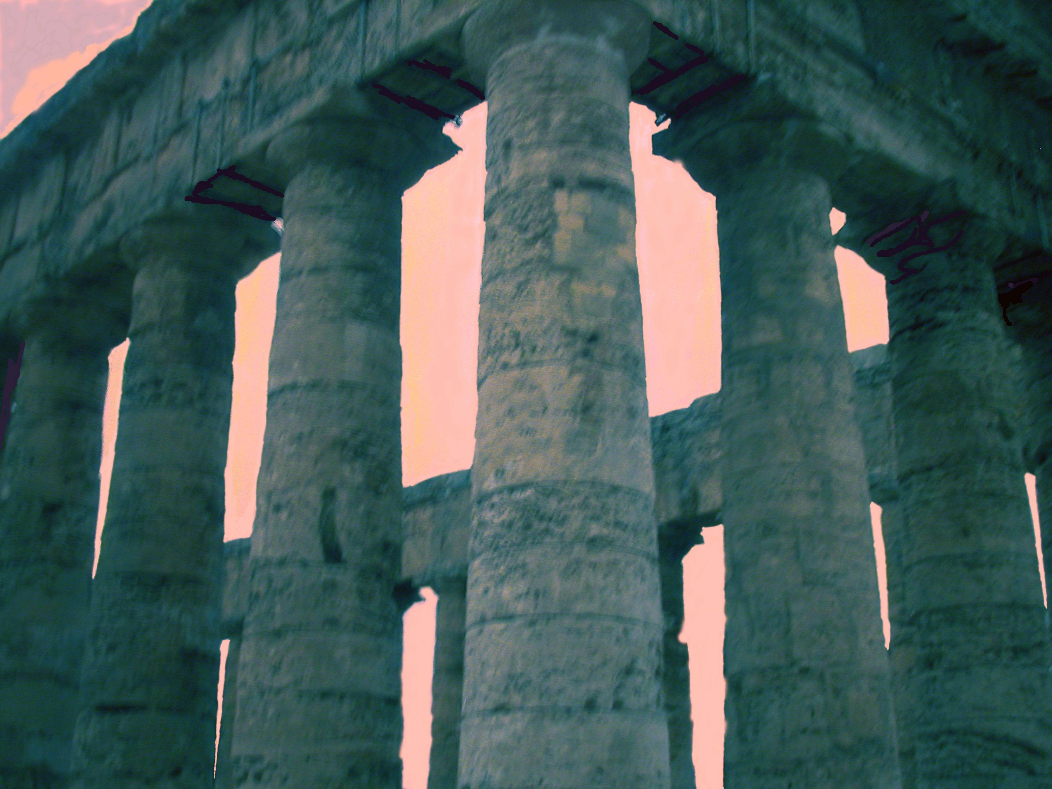 Colleseum Series (Close Up, Orange Sky), 2003