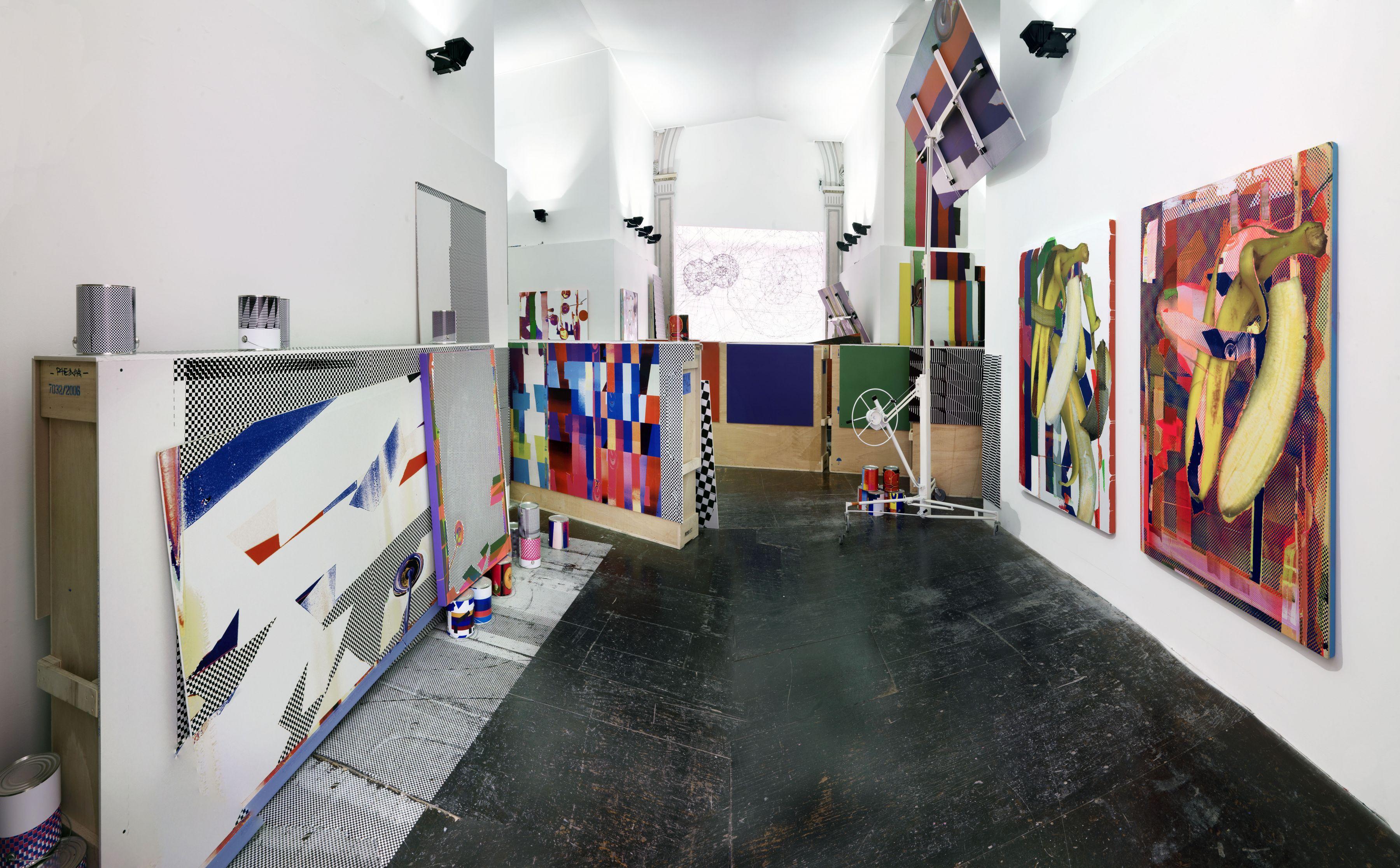 Installation view, Making Worlds, 53rd Venice Biennale, Venice, 2009