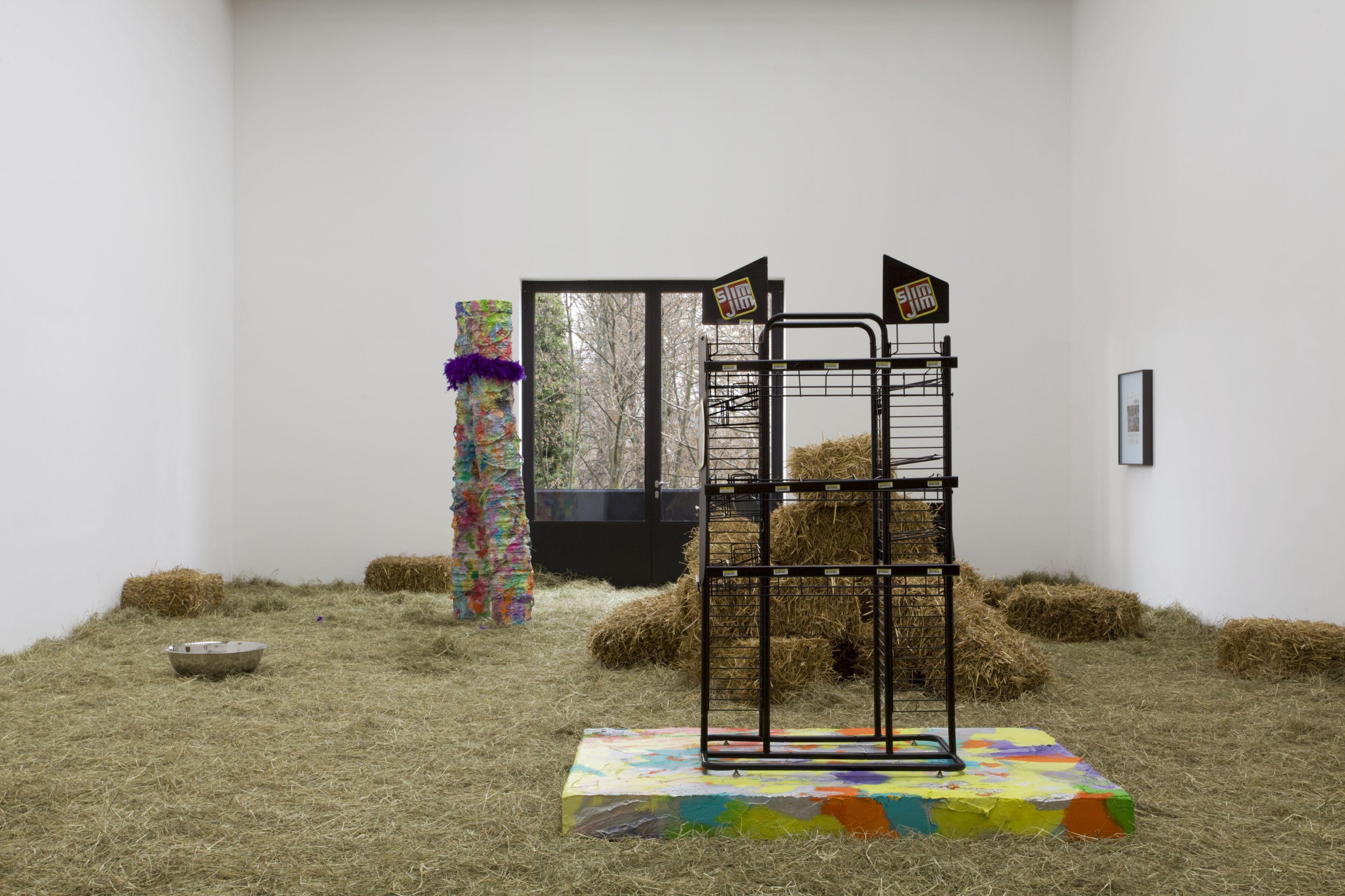 Rachel Harrison Greene Naftali Gallery, New York Haycation 2009