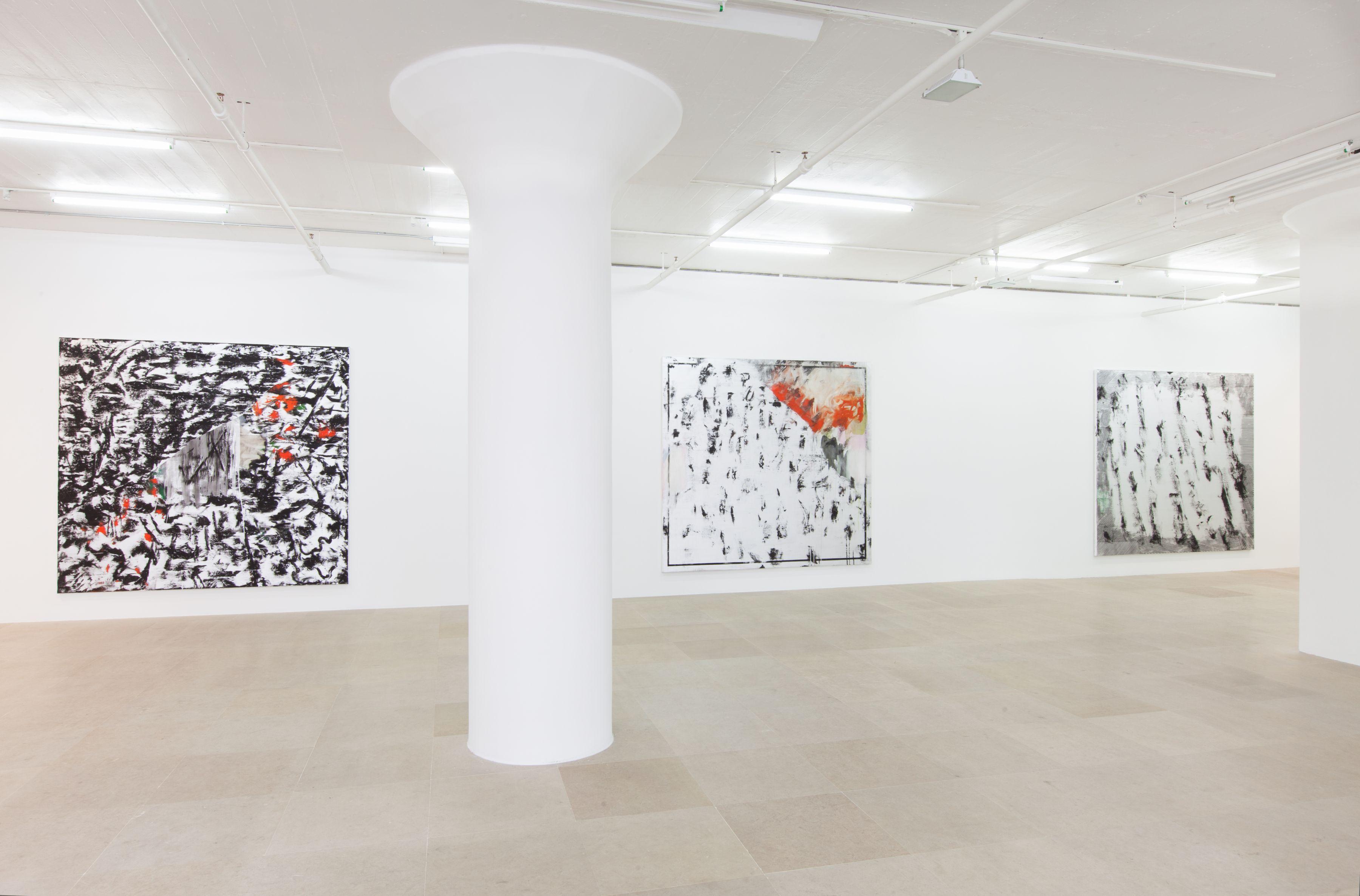 Jacqueline Humphries, Installation view, Greene Naftali, New York, 2012