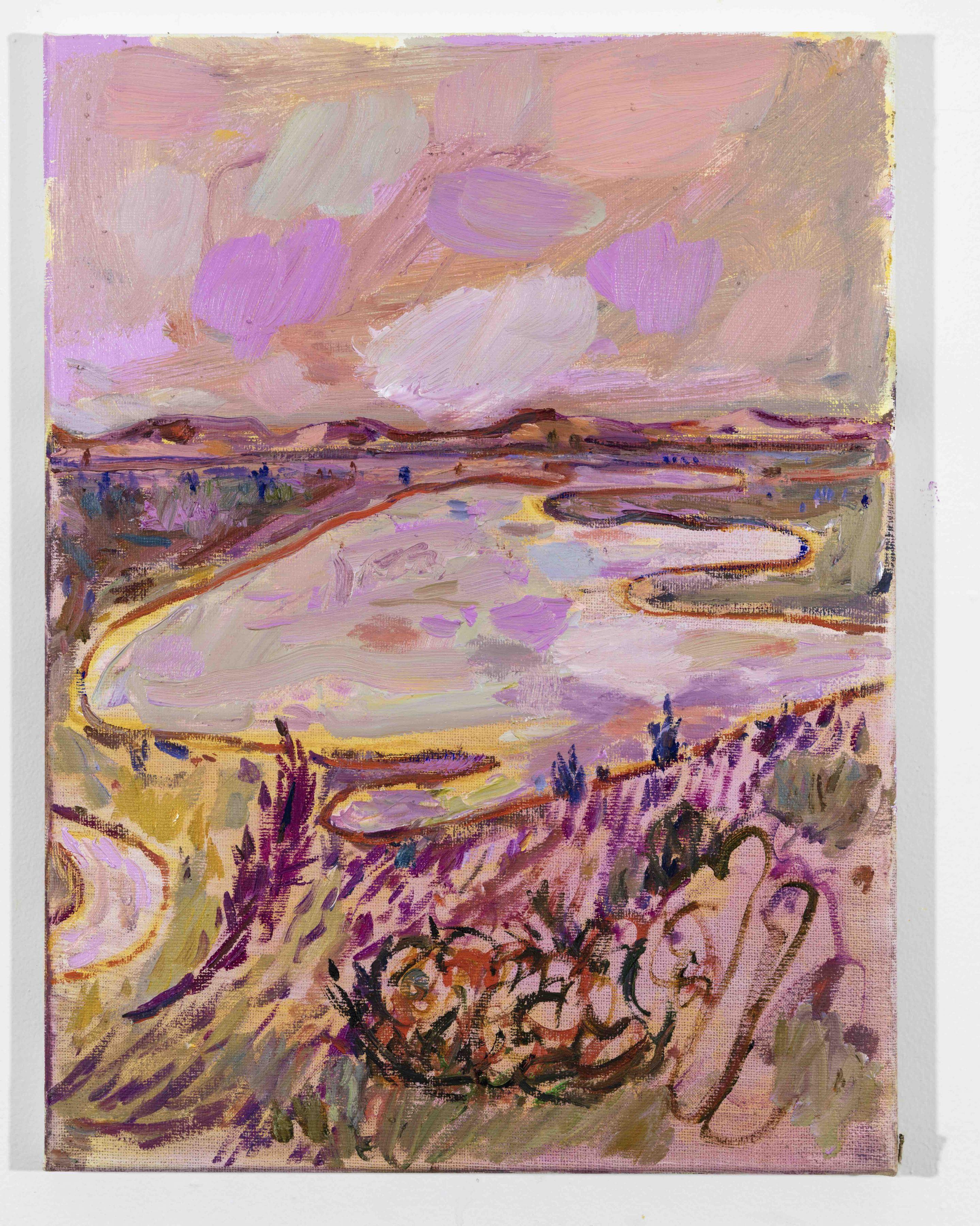 LISA SANDITZ, Landscape Color Study 28, 2019