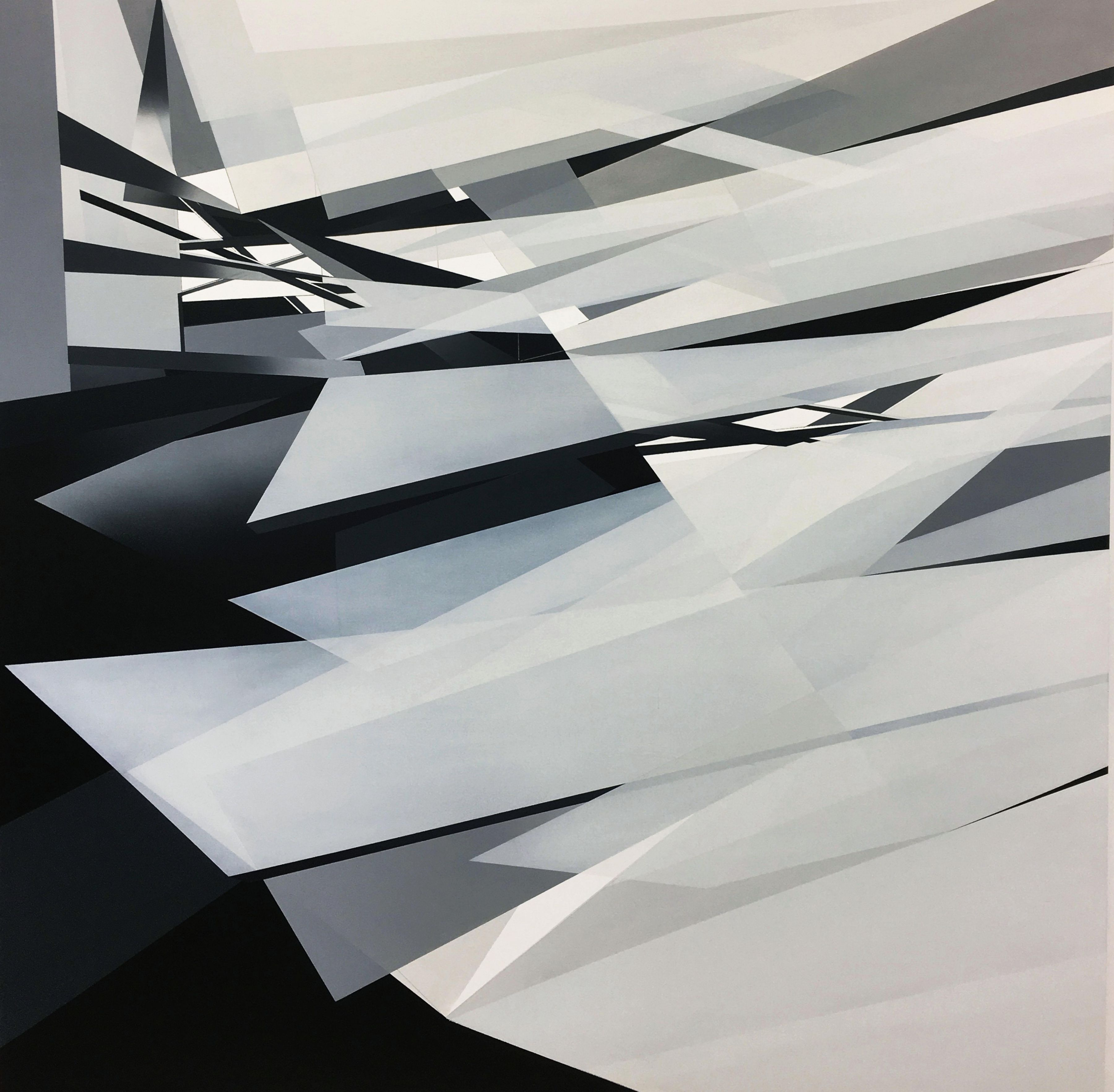 MARNA SHOPOFF, Layers and Planes, 2018