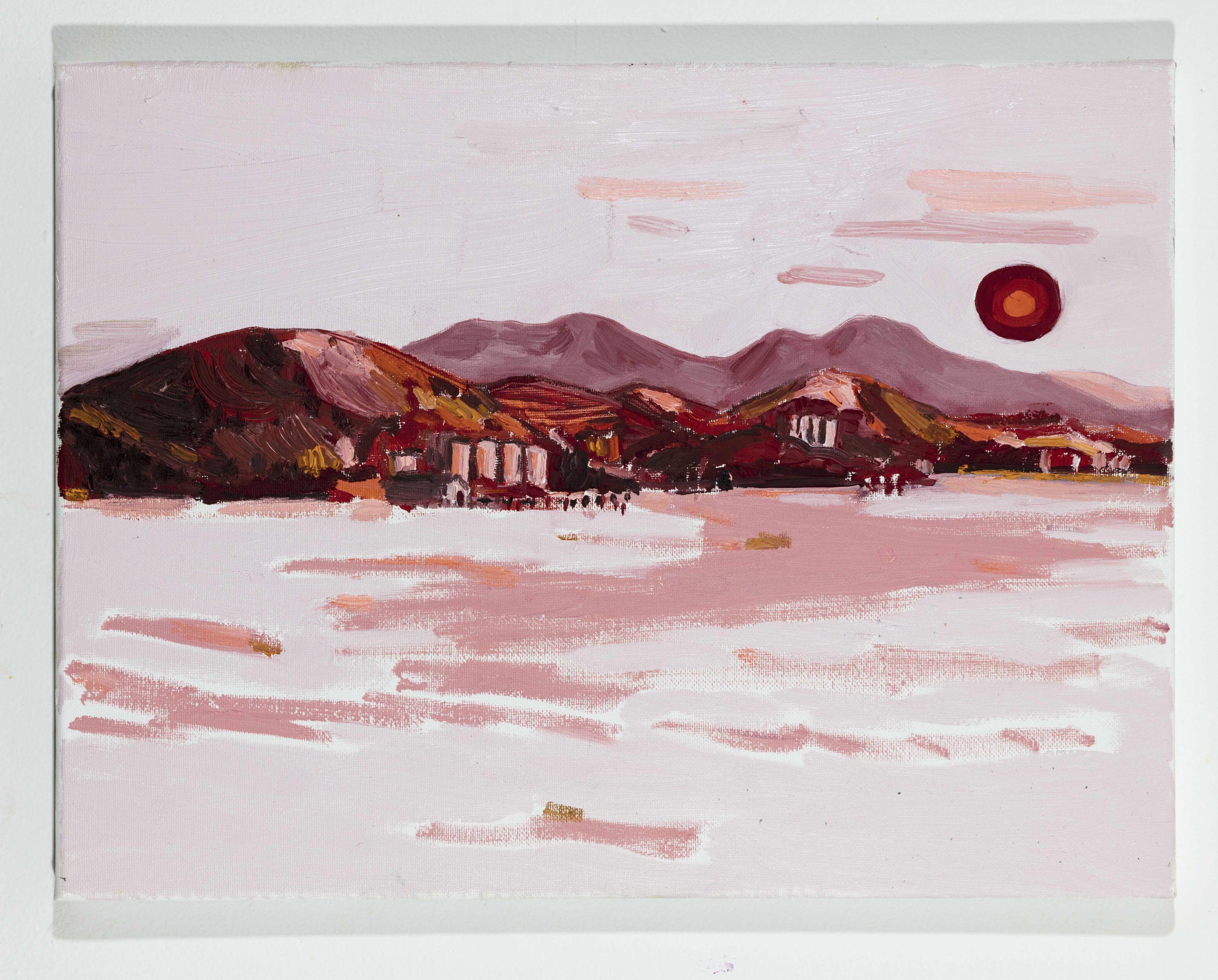 LISA SANDITZ, Landscape Color Study 6, 2019