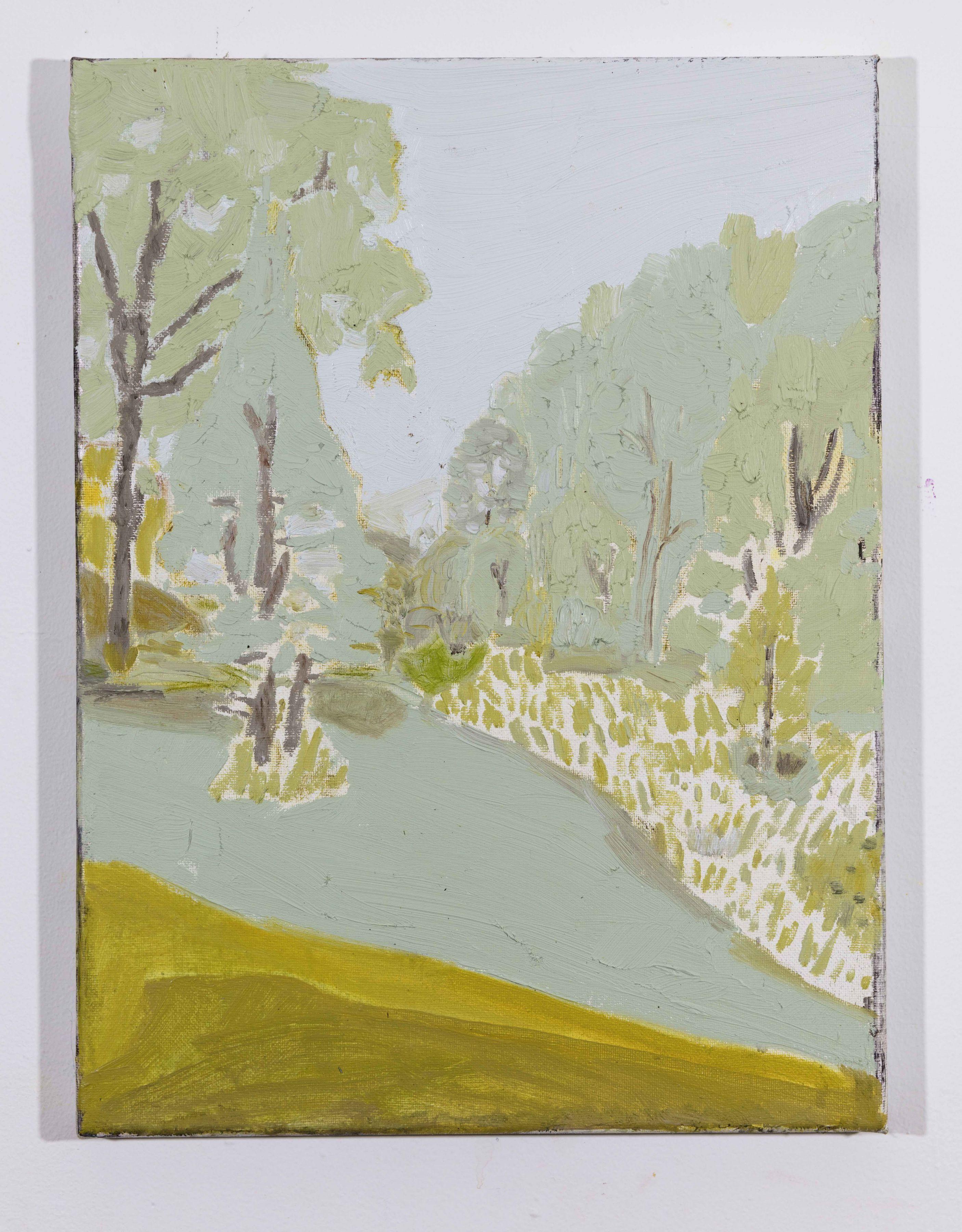 LISA SANDITZ, Landscape Color Study 15, 2019