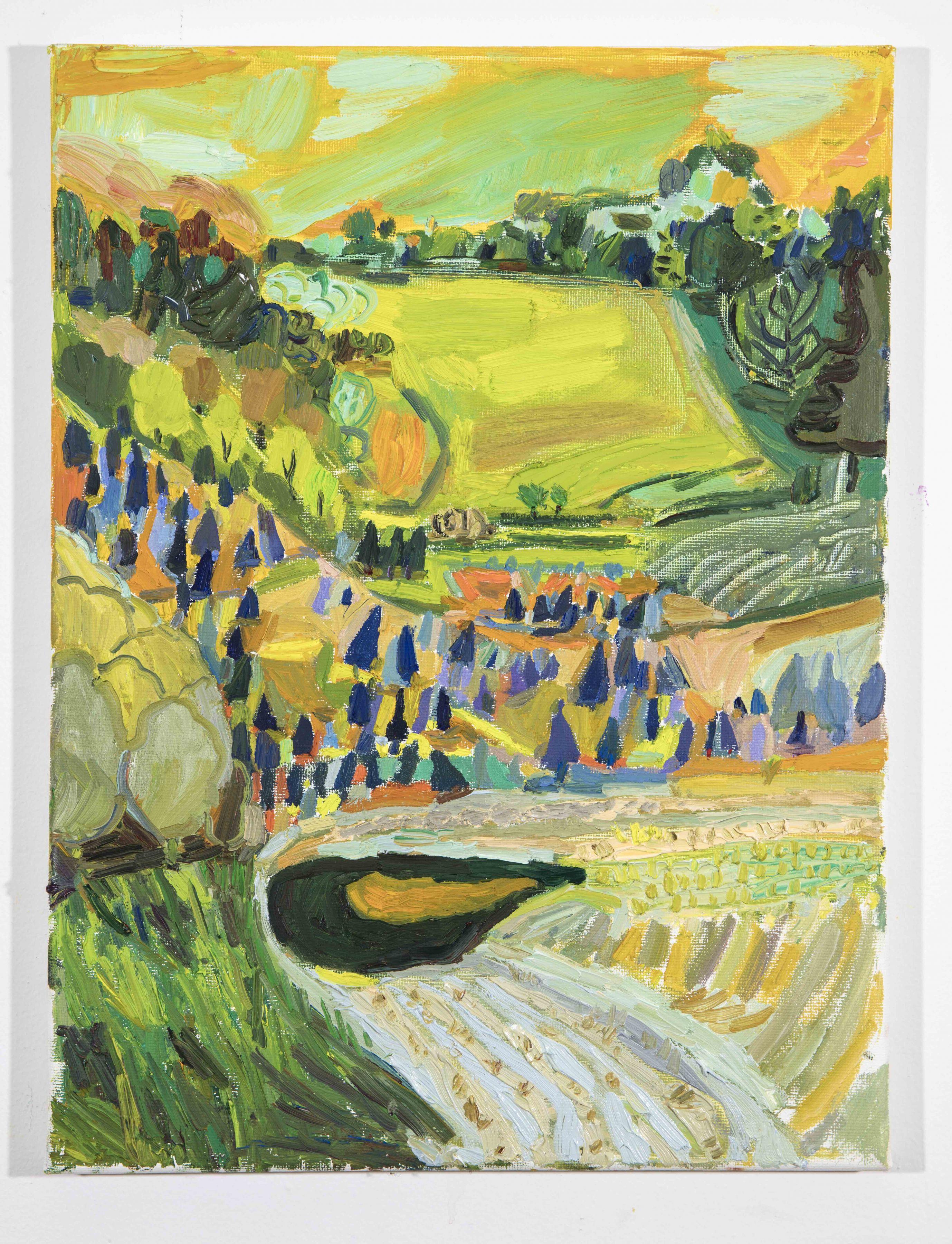 LISA SANDITZ, Landscape Color Study 8, 2019