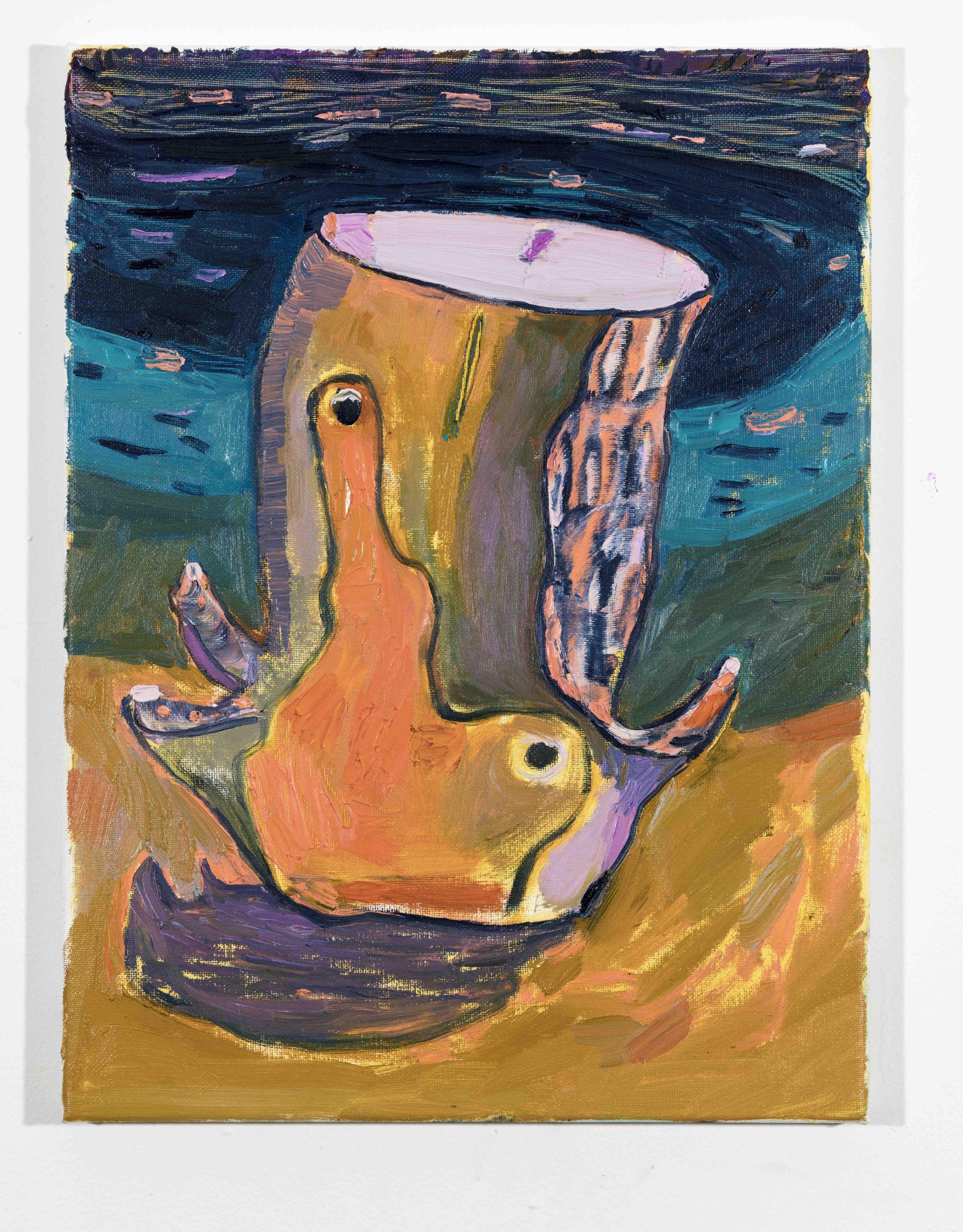 LISA SANDITZ, Landscape Color Study 3, 2019