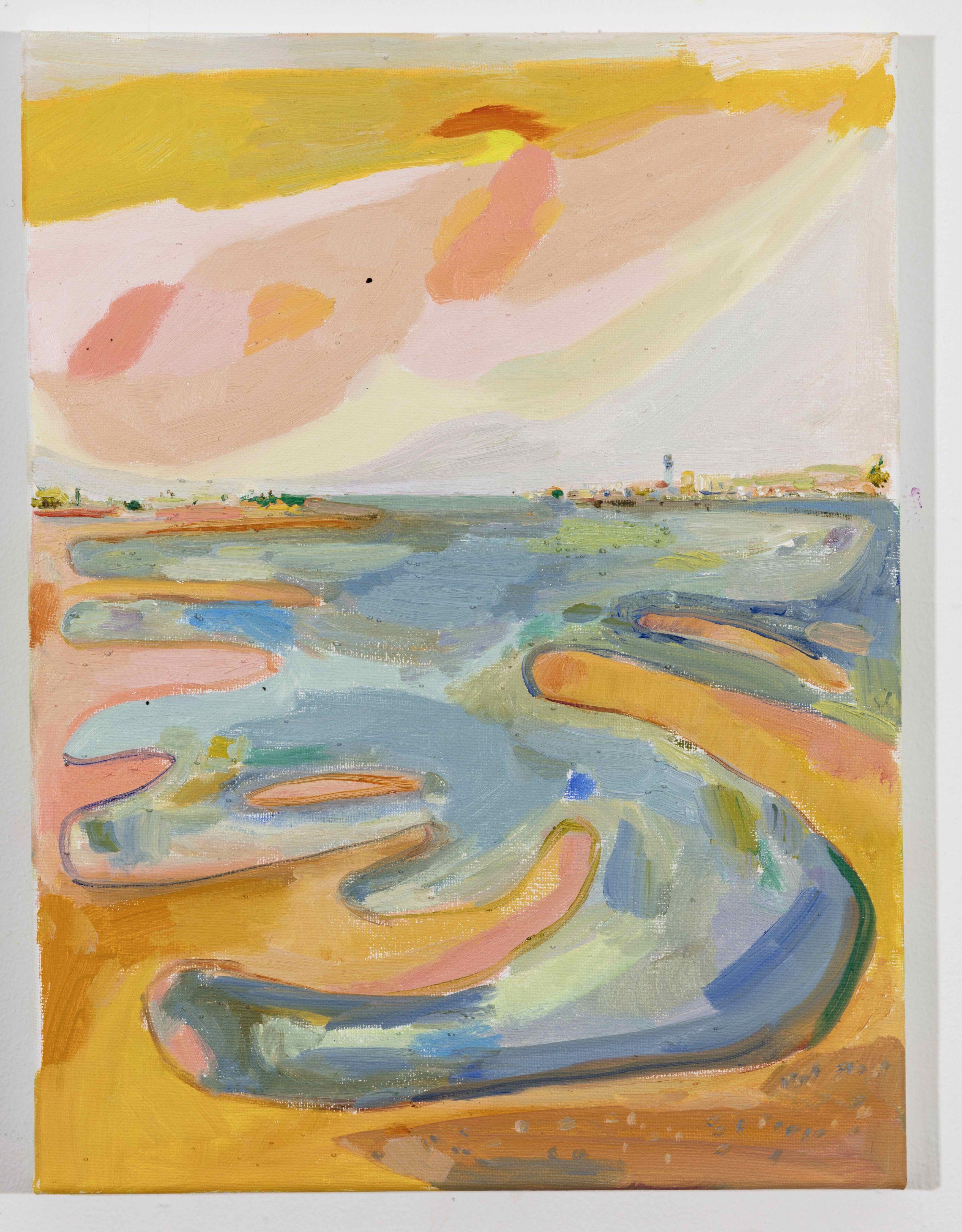 LISA SANDITZ, Landscape Color Study 26, 2019