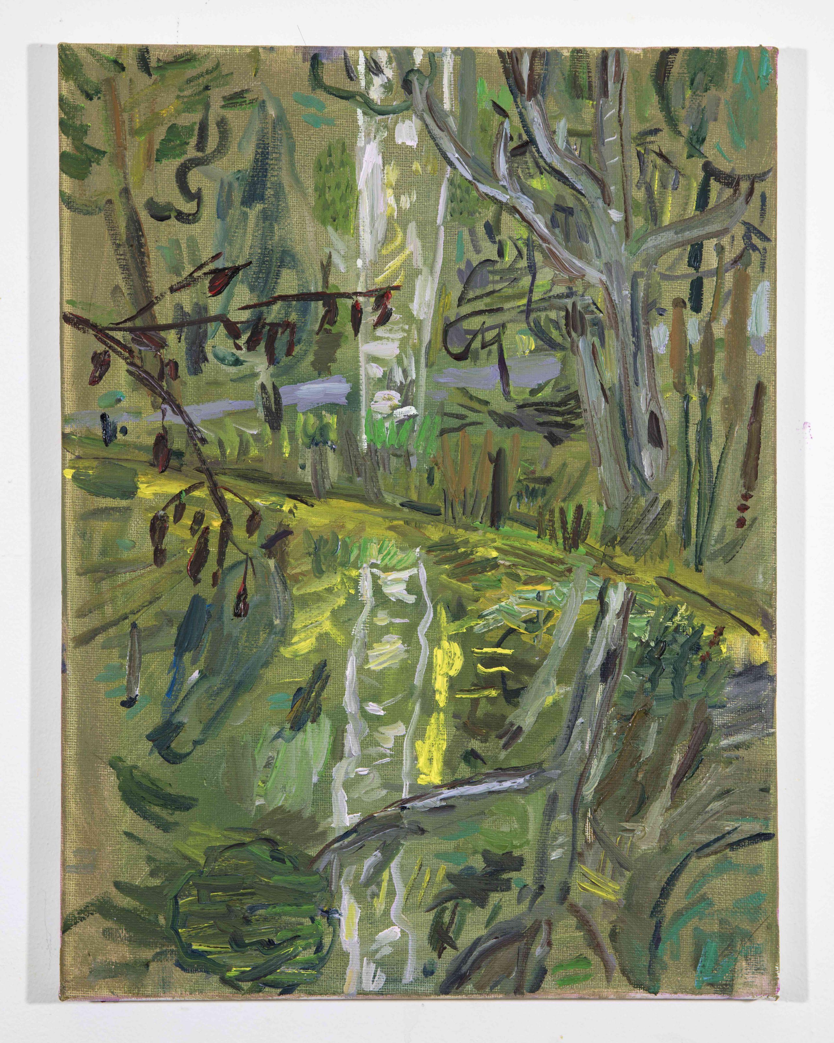 LISA SANDITZ, Landscape Color Study 10, 2019