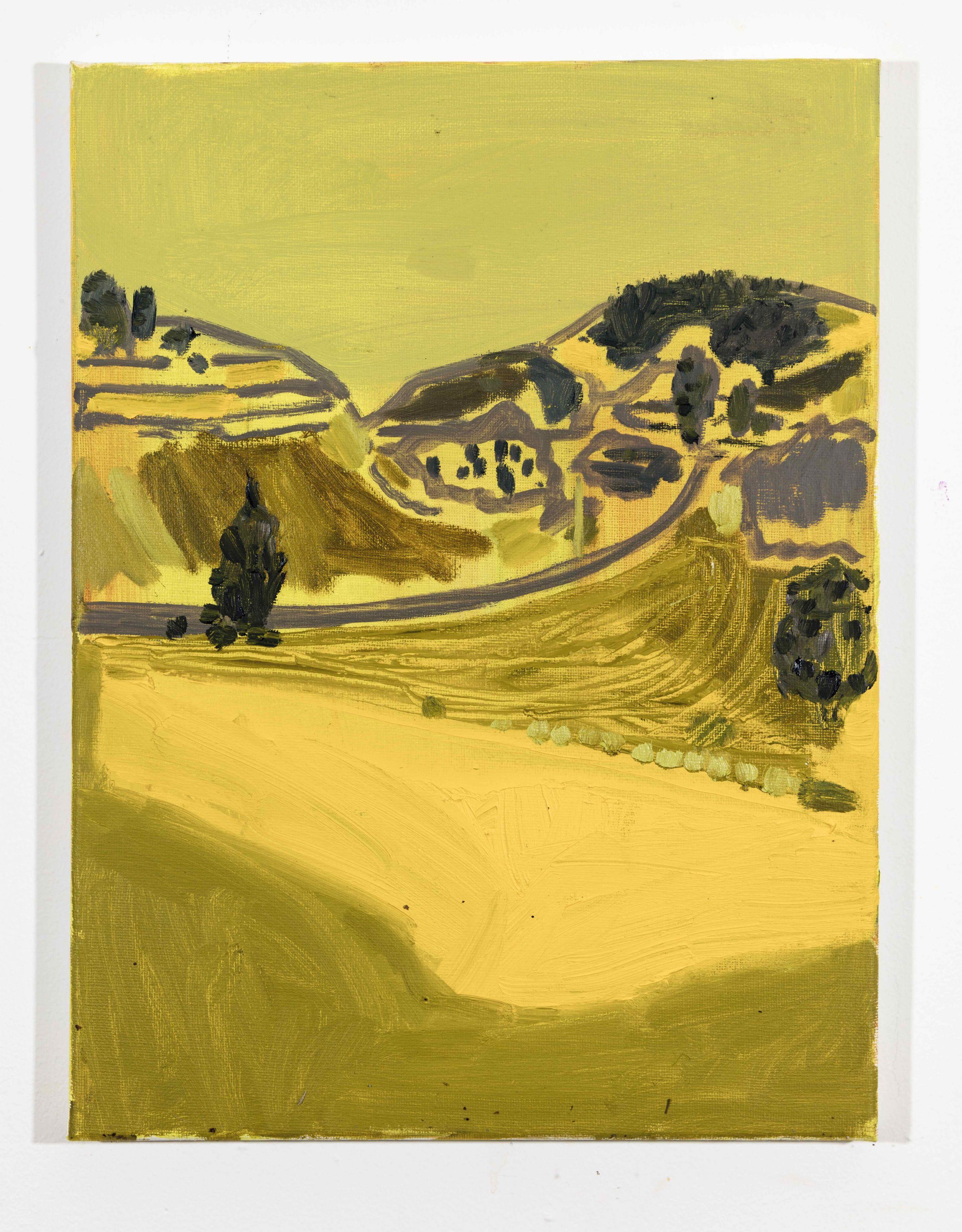 LISA SANDITZ, Landscape Color Study 14, 2019