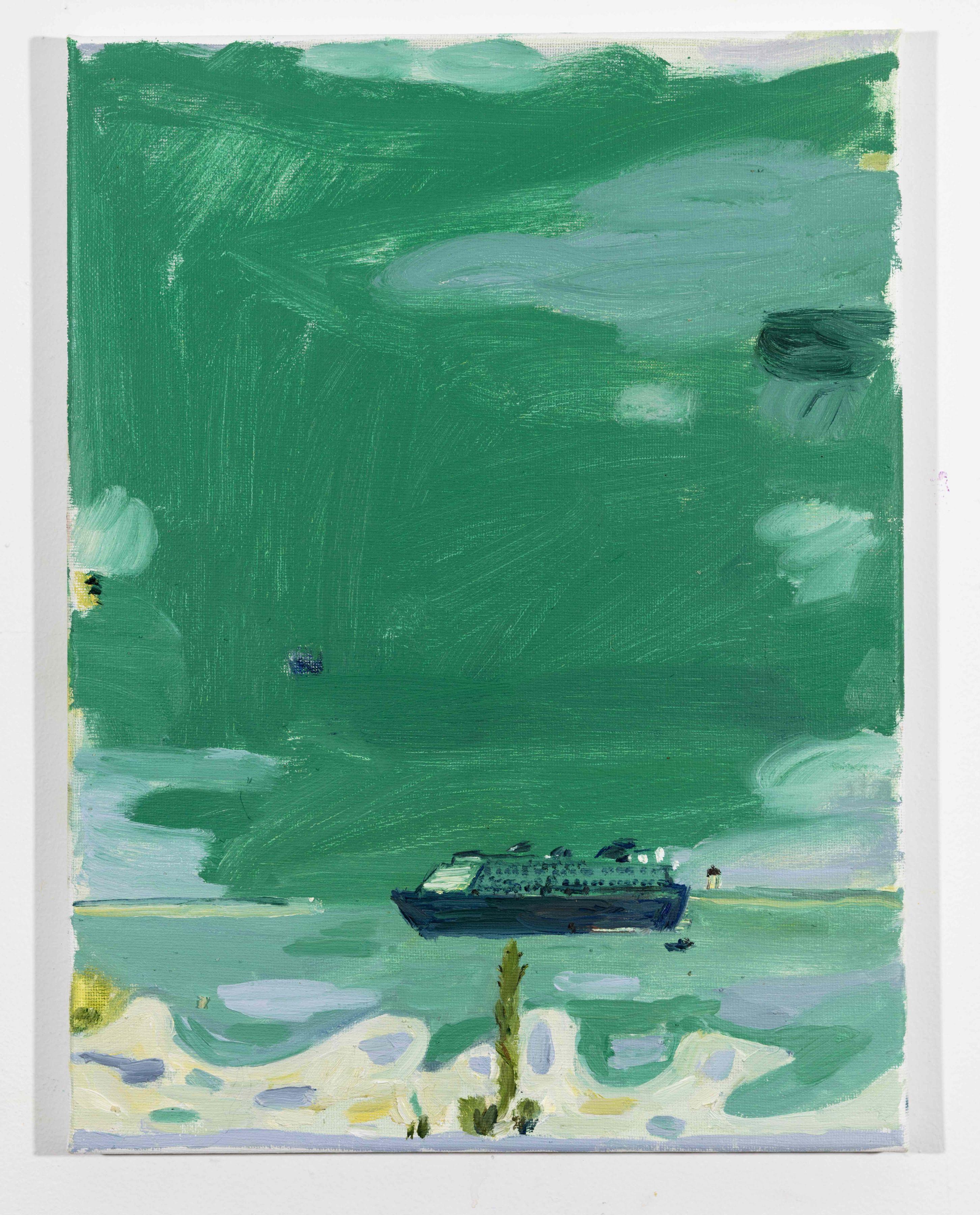 LISA SANDITZ, Landscape Color Study 22, 2019