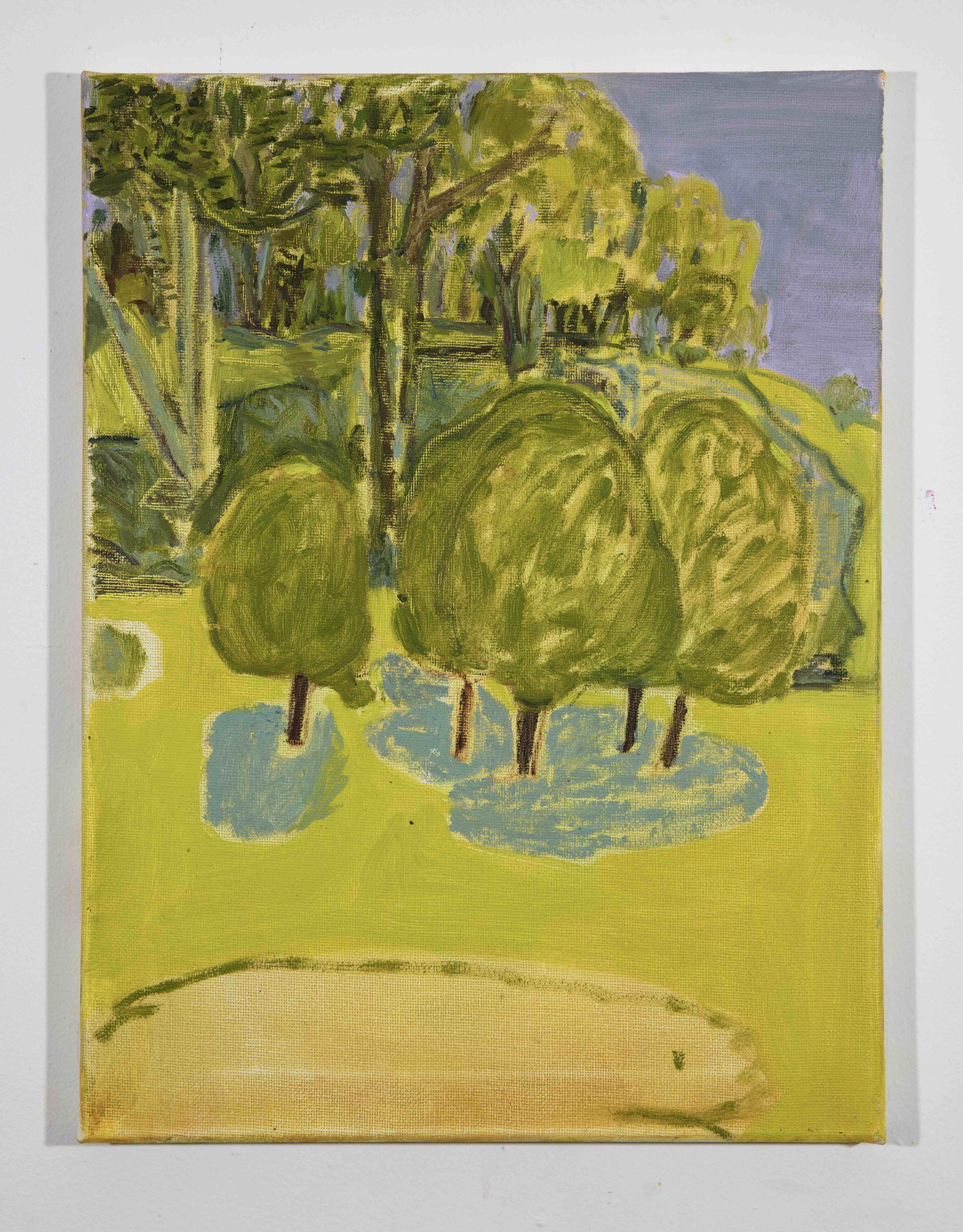 LISA SANDITZ, Landscape Color Study 18, 2019