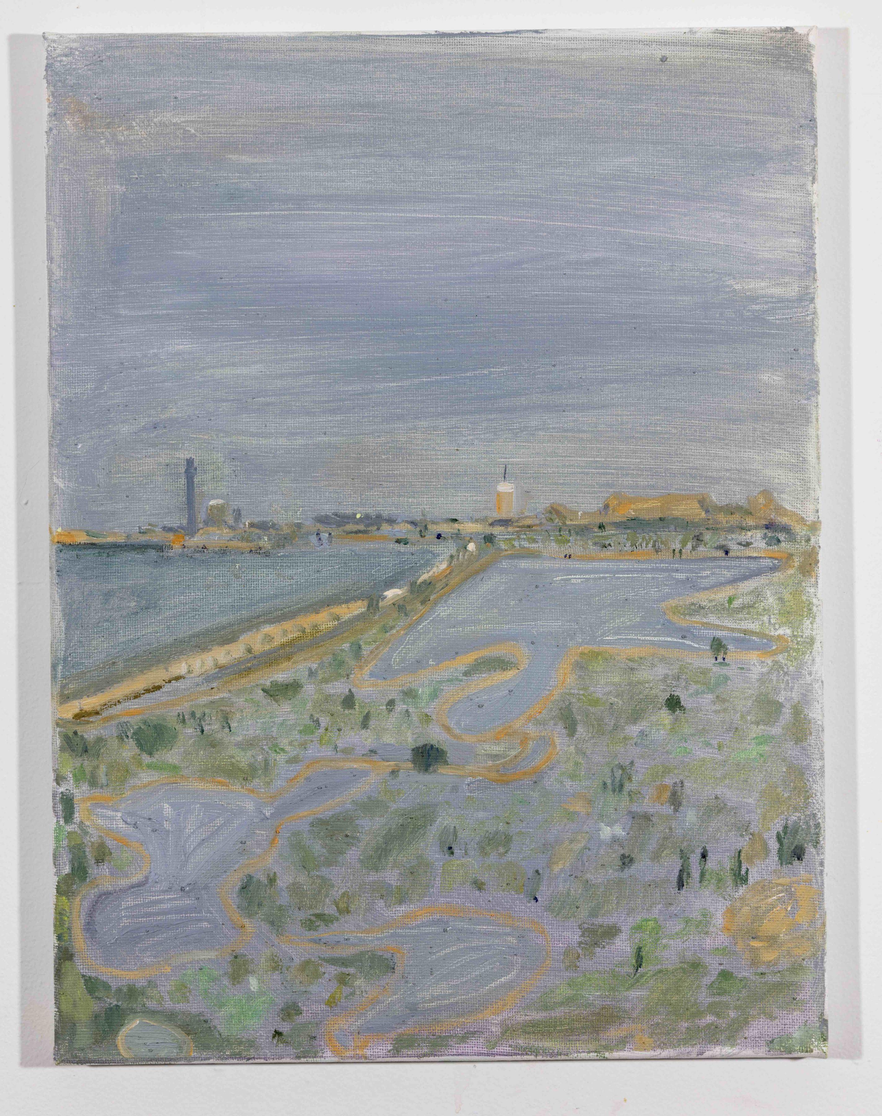 LISA SANDITZ, Landscape Color Study 23, 2019